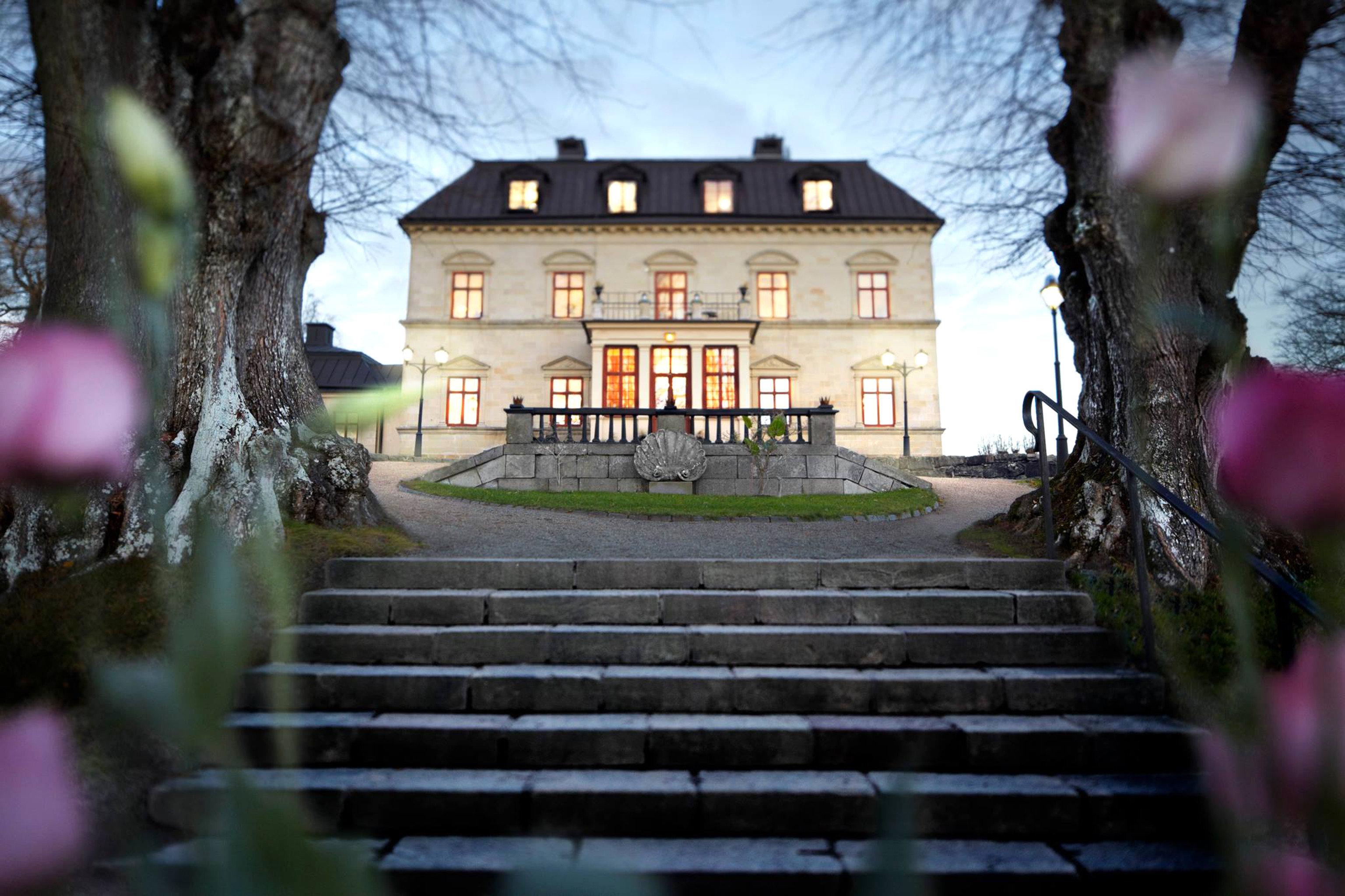 Denmark Finland Hotels Landmarks Luxury Travel Sweden tree outdoor color photograph night season flower spring autumn