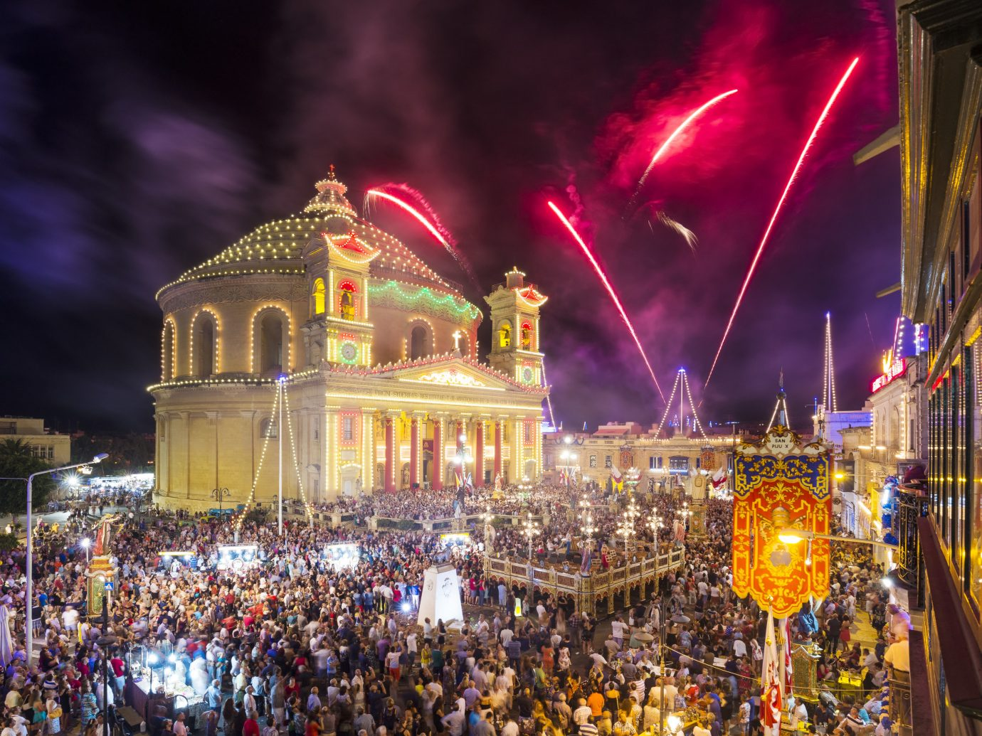 Trip Ideas person crowd night carnival event festival new year