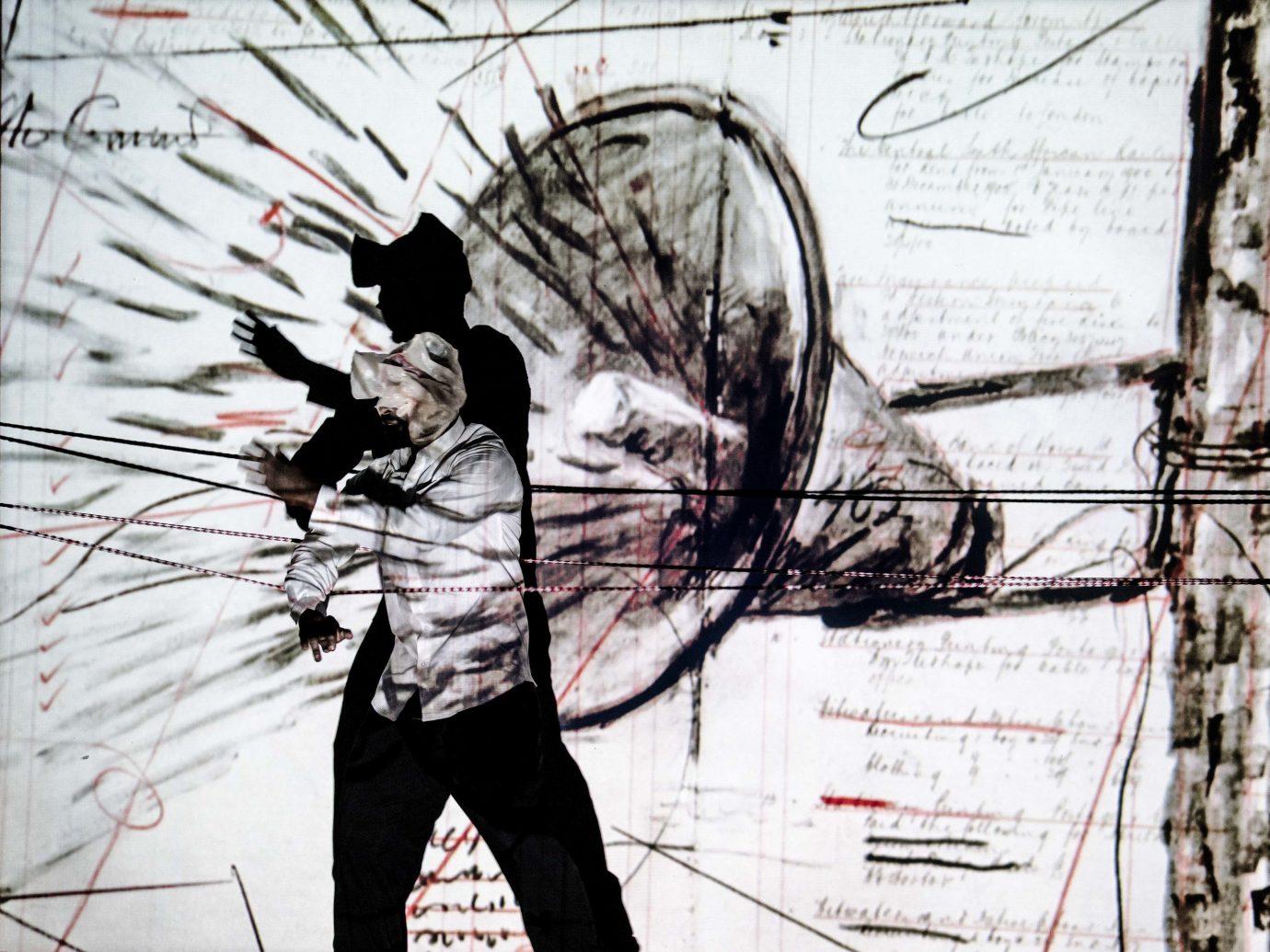 Arts + Culture Trip Ideas outdoor man art graphic design font visual arts graphics illustration