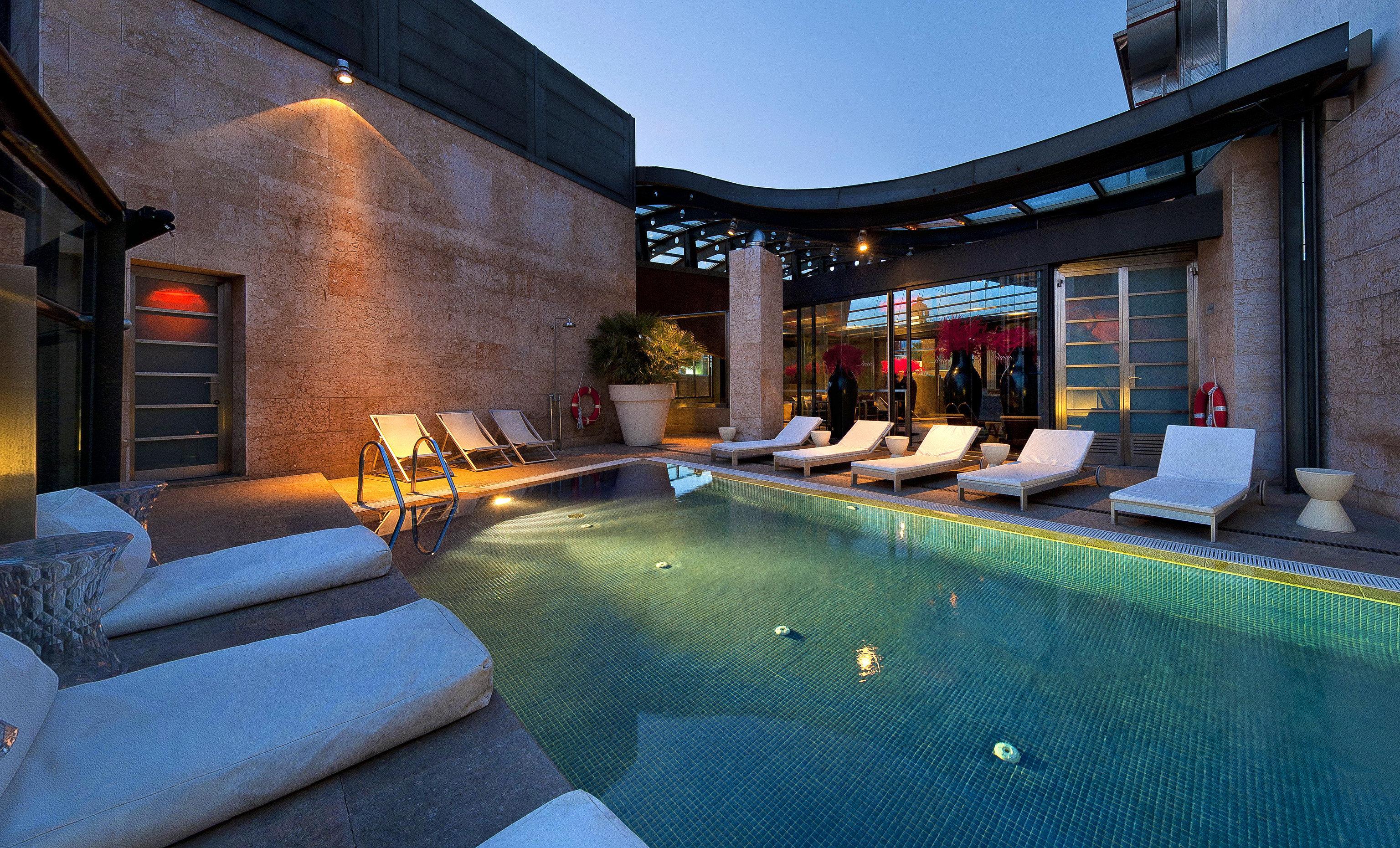 Hotels Madrid Spain swimming pool Living property leisure estate room Resort vacation Villa home backyard mansion real estate