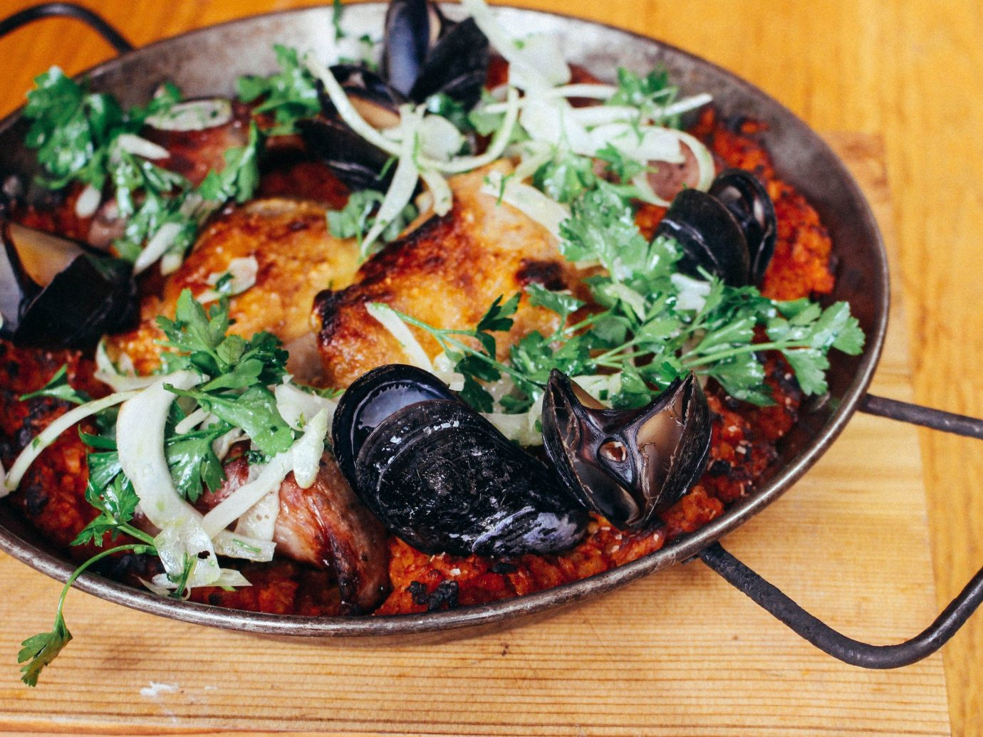 Food + Drink dish food cuisine produce fish vegetable mussel meal different