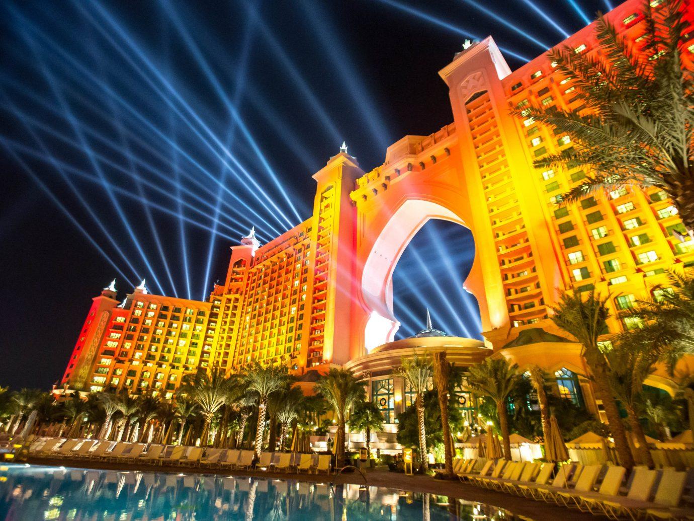 Trip Ideas building night light amusement park Resort festival