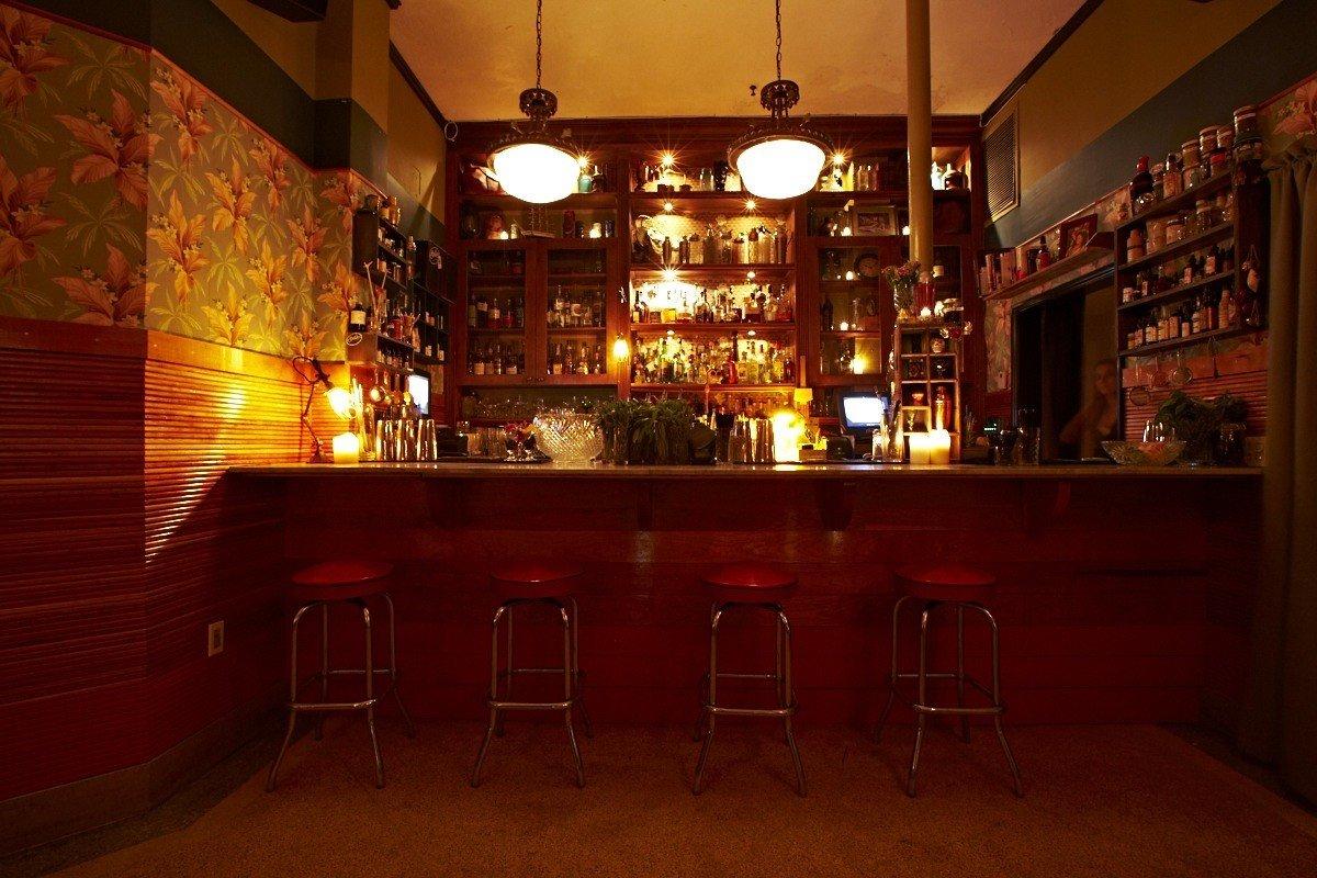 Food + Drink floor indoor Bar restaurant interior design dining room
