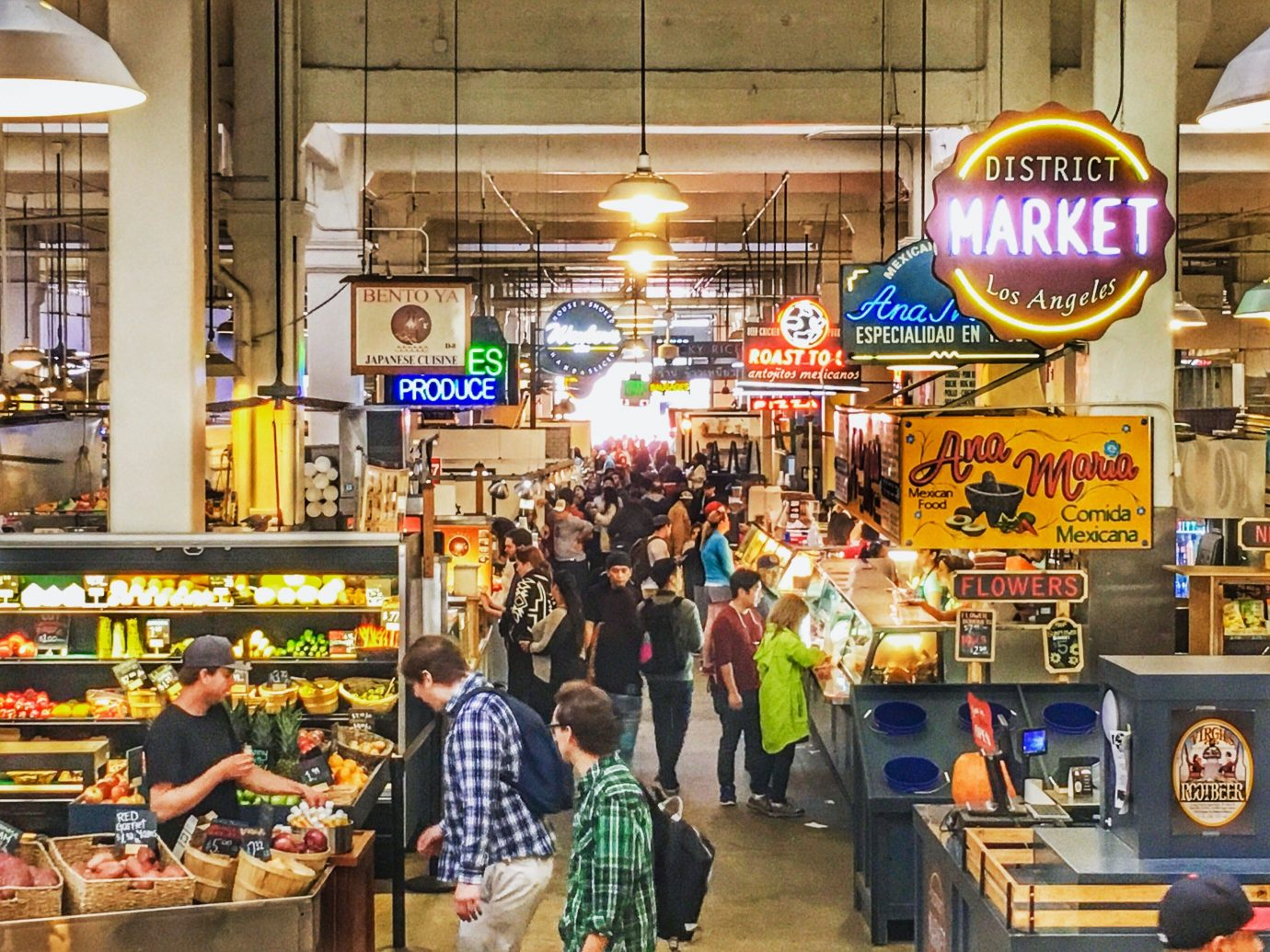 Food + Drink marketplace market retail supermarket store grocery store whole food food court bazaar grocer shopping fast food restaurant City produce sale Shop several