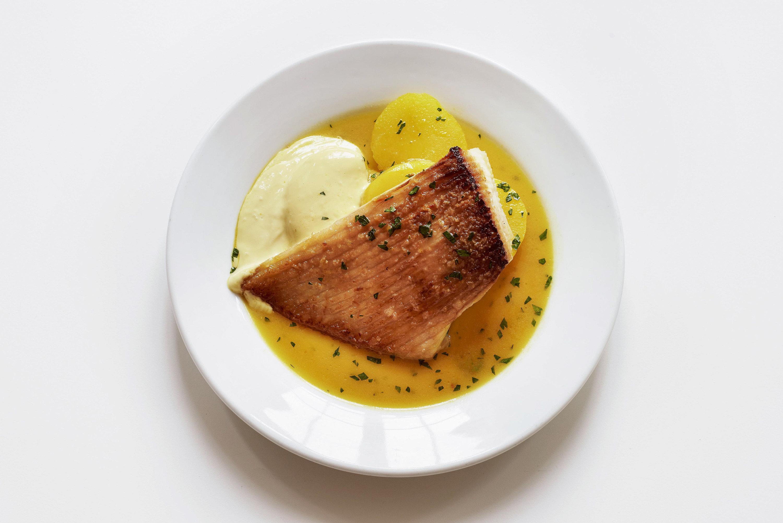 Food + Drink London plate food dish indoor recipe cuisine dessert