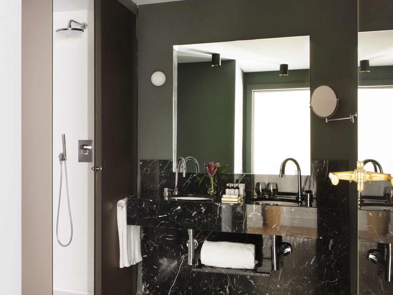 Hotels Madrid Spain wall indoor room property black furniture floor interior design cabinetry living room flooring