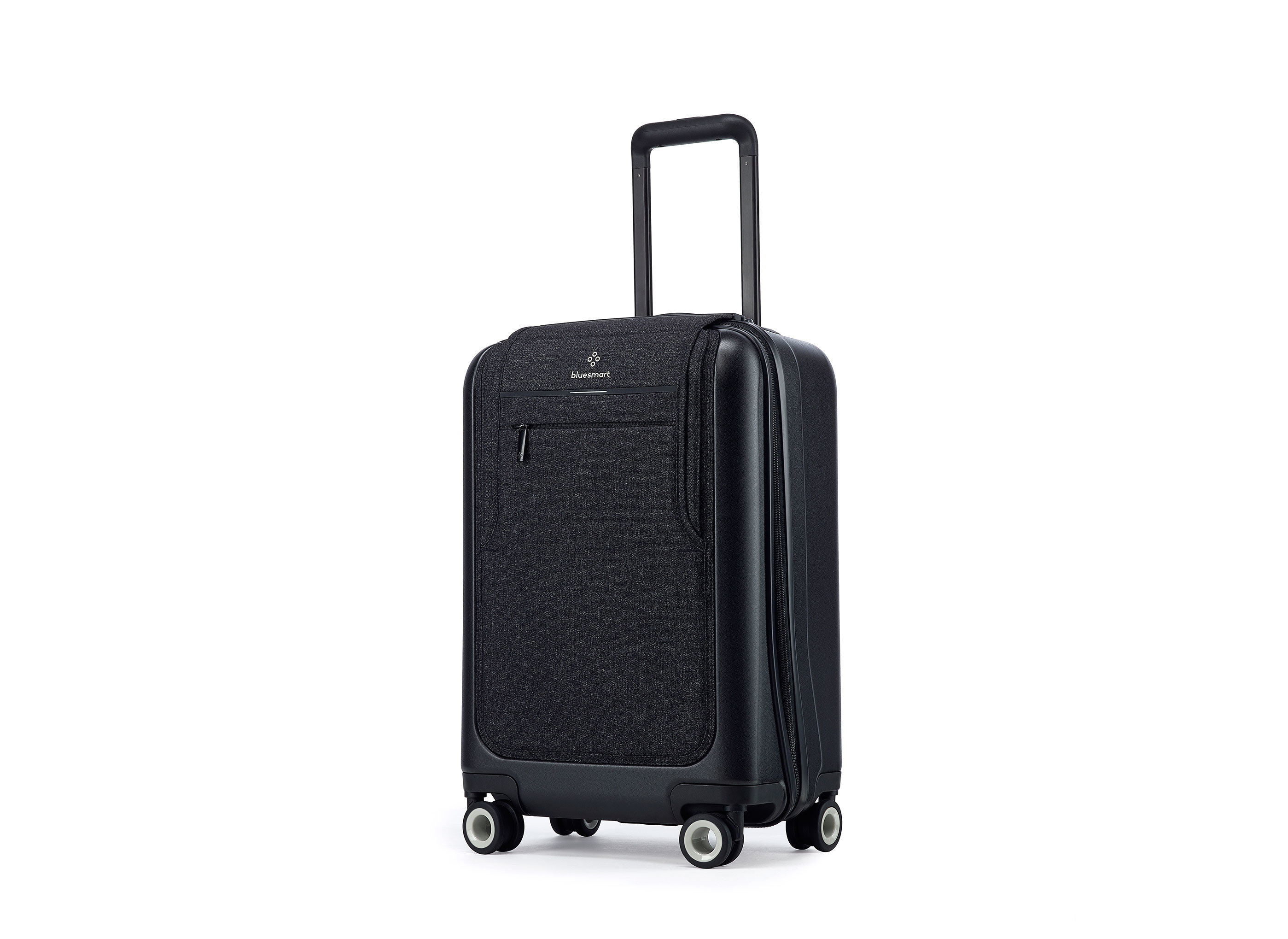 Style + Design luggage suitcase hand luggage bag product piece black leather accessory case colored