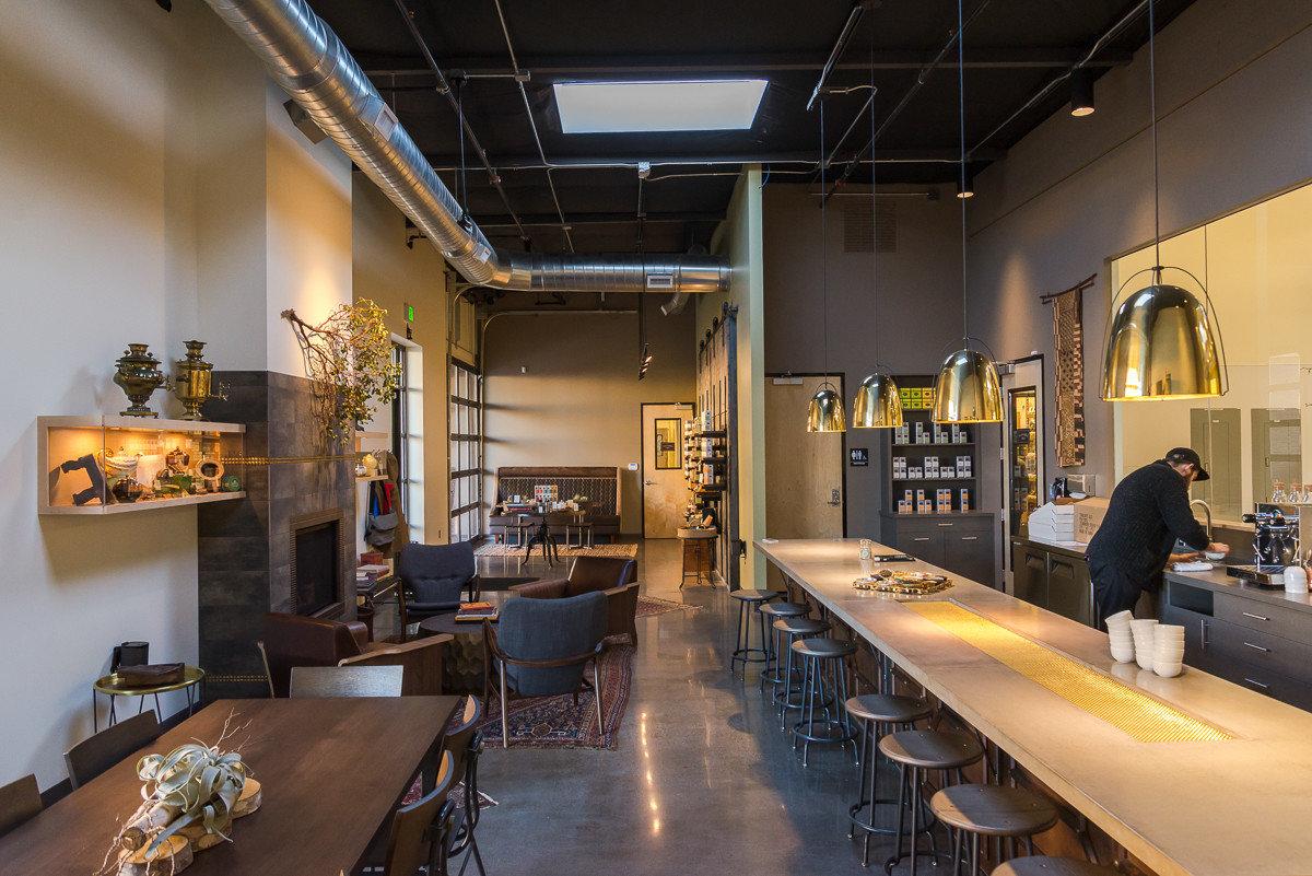 Food + Drink indoor wall table floor ceiling Lobby room interior design Design Boutique estate restaurant area furniture