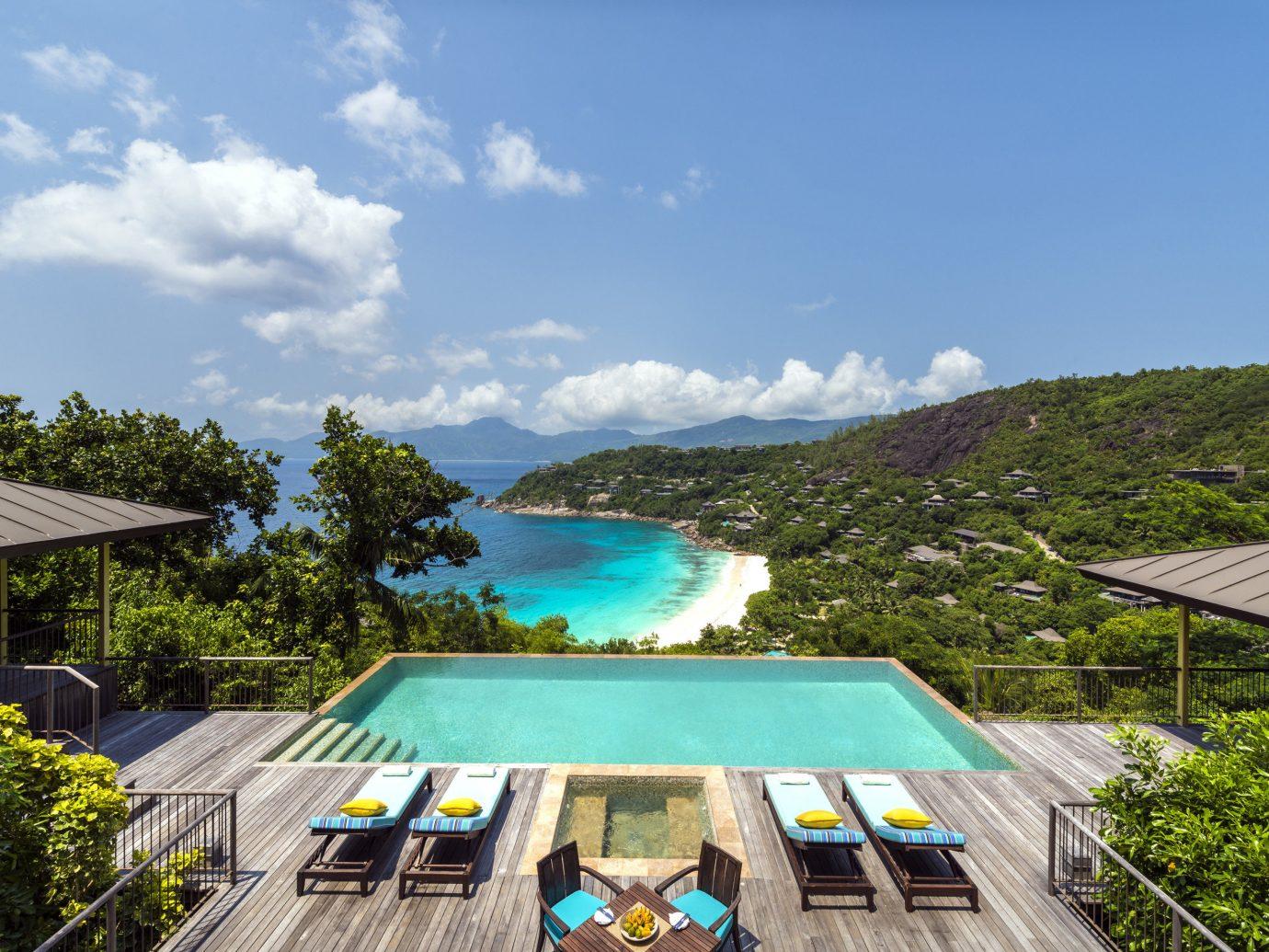 Luxury Travel Trip Ideas sky outdoor tree leisure swimming pool estate vacation Resort Villa
