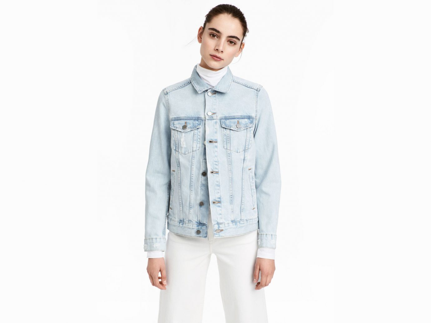 Style + Design Travel Shop person standing clothing wearing indoor denim posing jacket sleeve outerwear uniform textile dressed fashion model jeans male work-clothing
