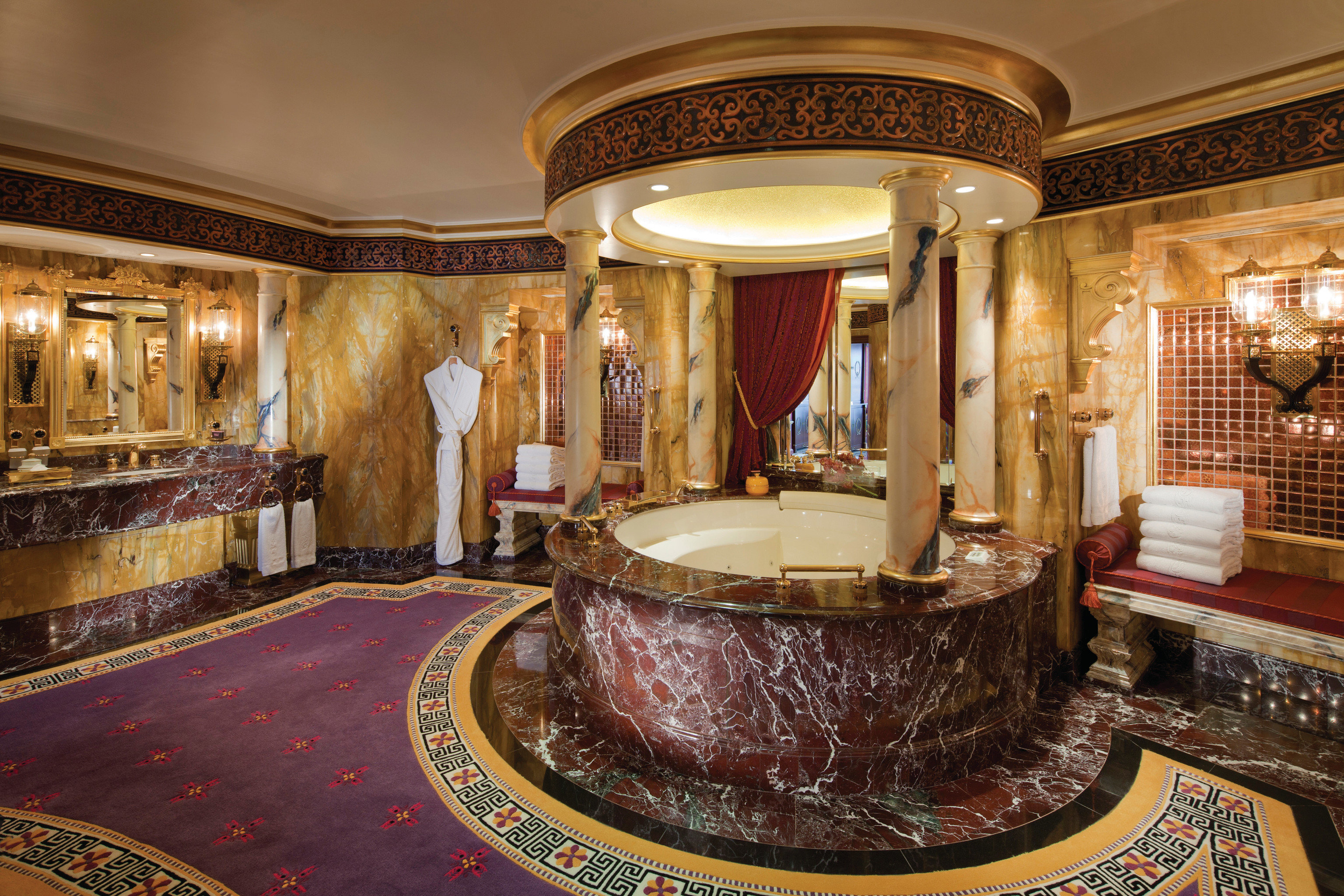 Dubai Hotels Luxury Travel Middle East room Lobby interior design function hall ceiling estate flooring furniture hall