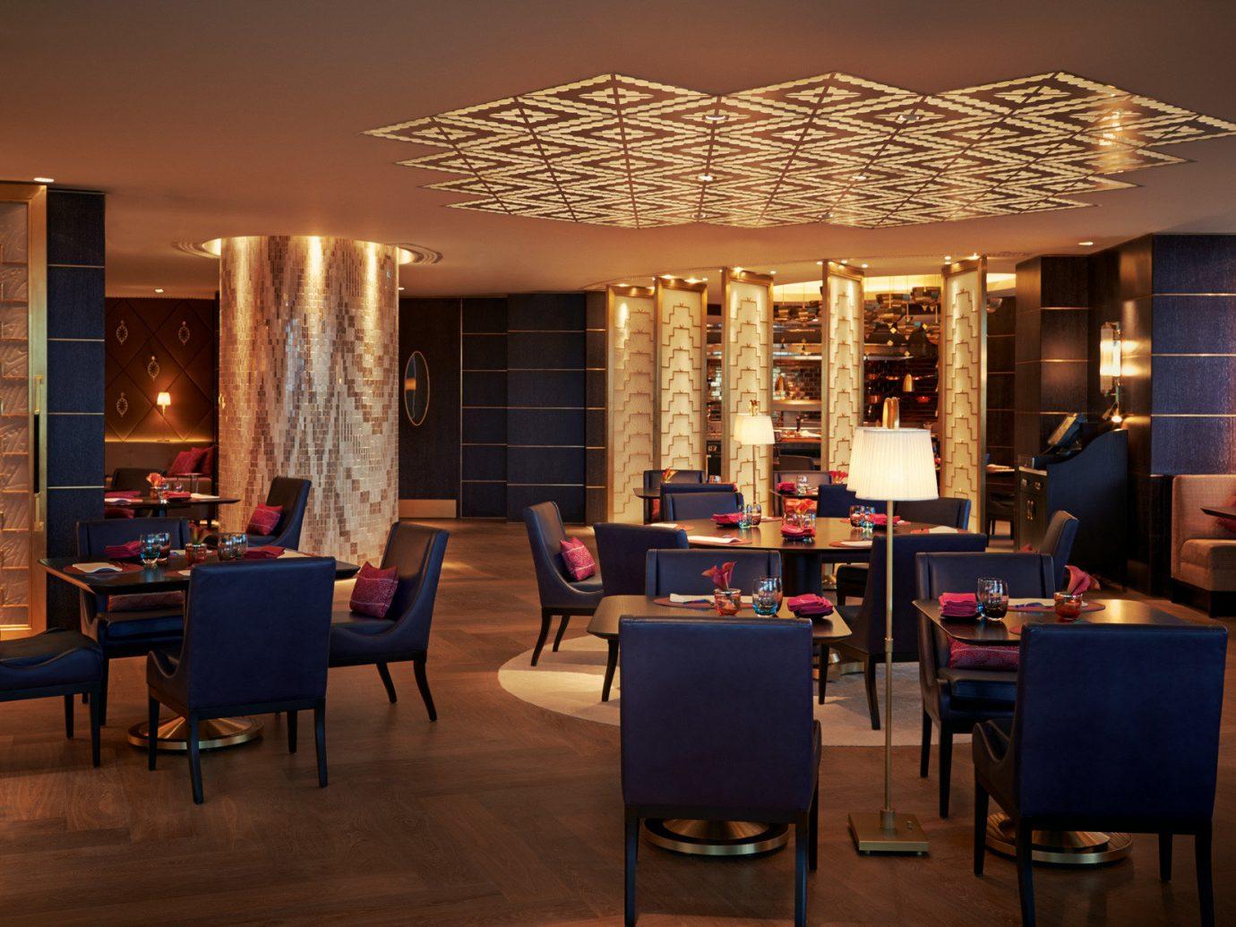 Bar Boutique Hotels Dining Drink Eat Hip Hotels Luxury Luxury Travel indoor floor room Living chair ceiling restaurant dining room interior design furniture Design estate area