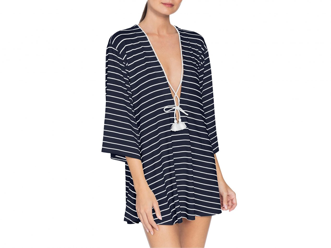 Robin Piccone Ava Stripe Cover-Up Tunic