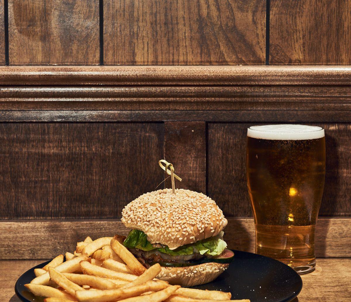 Food + Drink Trip Ideas table food fast food dish wooden junk food cuisine finger food hamburger still life sandwich