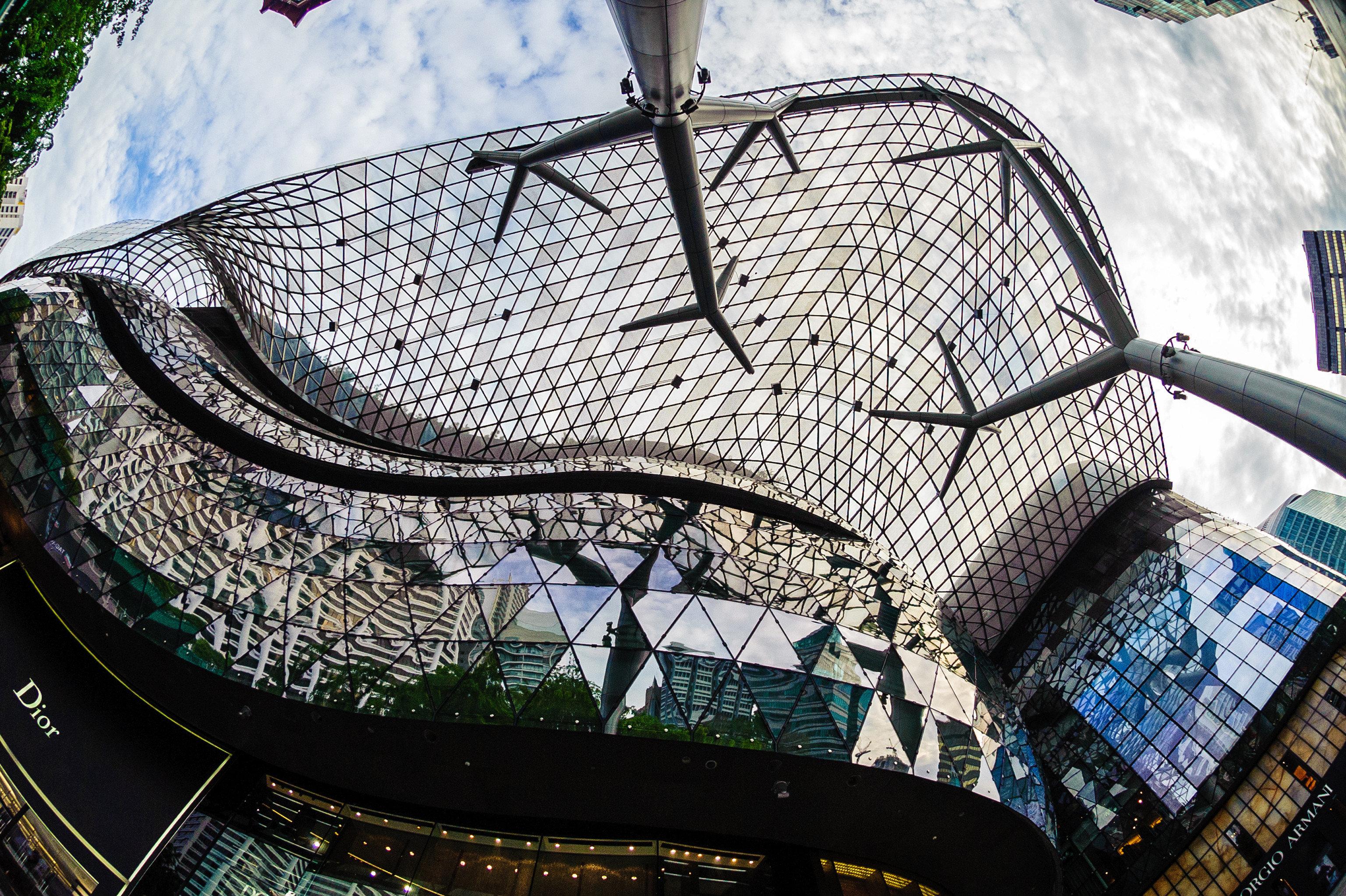 Offbeat Singapore Trip Ideas amusement park art sport venue metal amusement ride stadium world park