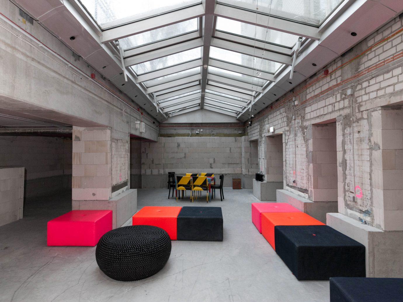 Berlin Boutique Hotels Germany Hotels Lobby Lounge Luxury Travel indoor floor interior design auditorium Design flooring furniture
