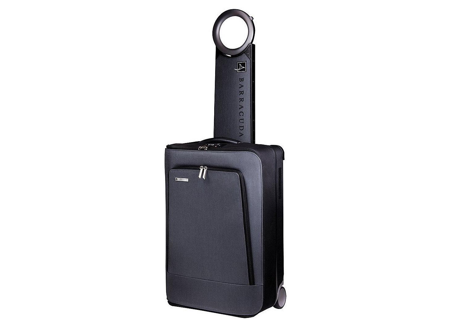 Style + Design luggage suitcase black product bag product design hardware case tool hand luggage colored
