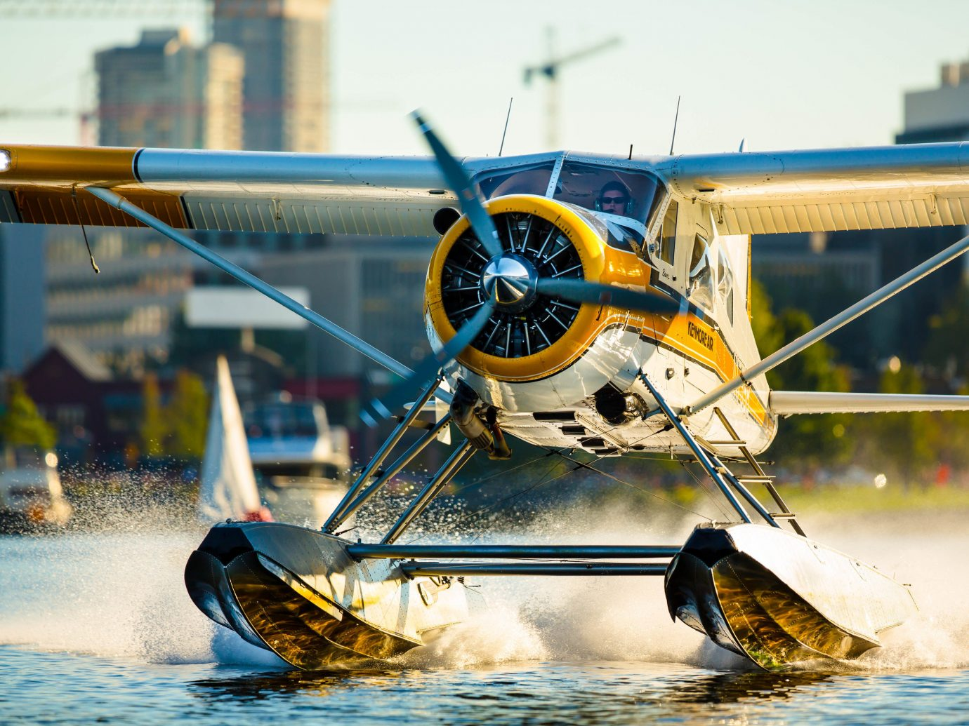 Trip Ideas sky plane outdoor water seaplane airplane aircraft aviation water transportation boating