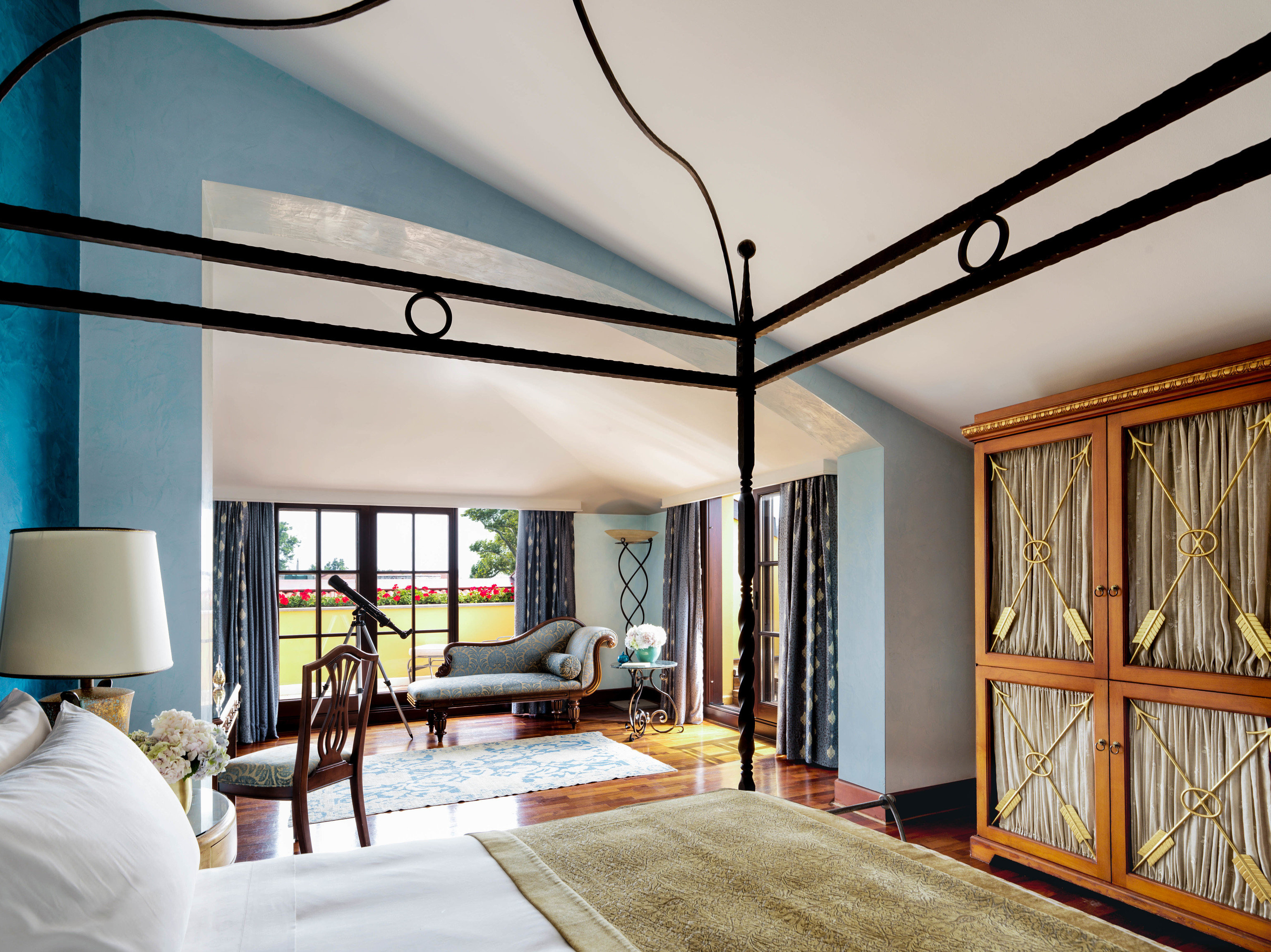 Boutique Hotels Hotels Luxury Travel indoor wall room ceiling bed interior design real estate estate living room home window Bedroom house interior designer furniture