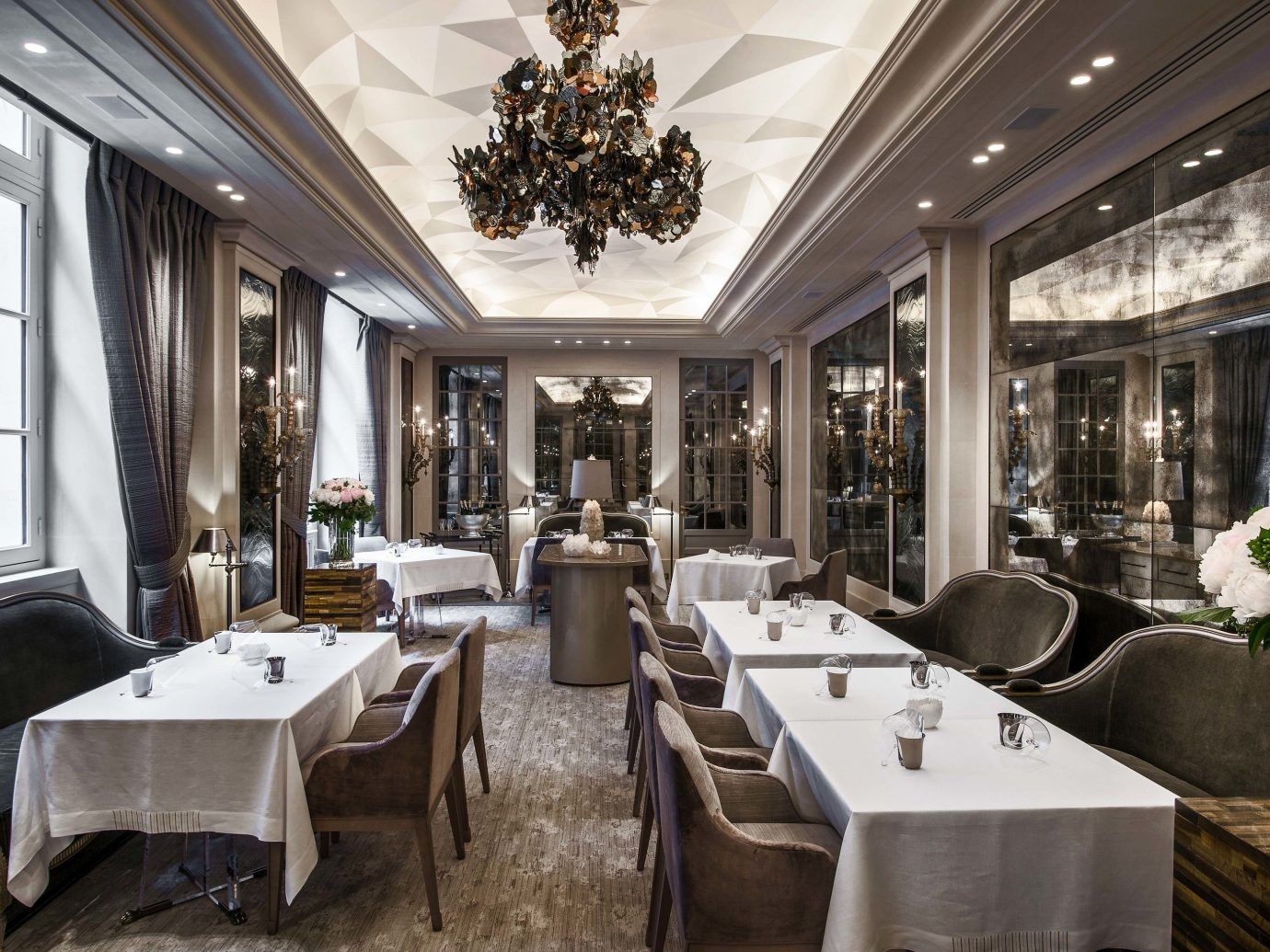 europe Trip Ideas indoor window room restaurant interior design ceiling furniture several dining room
