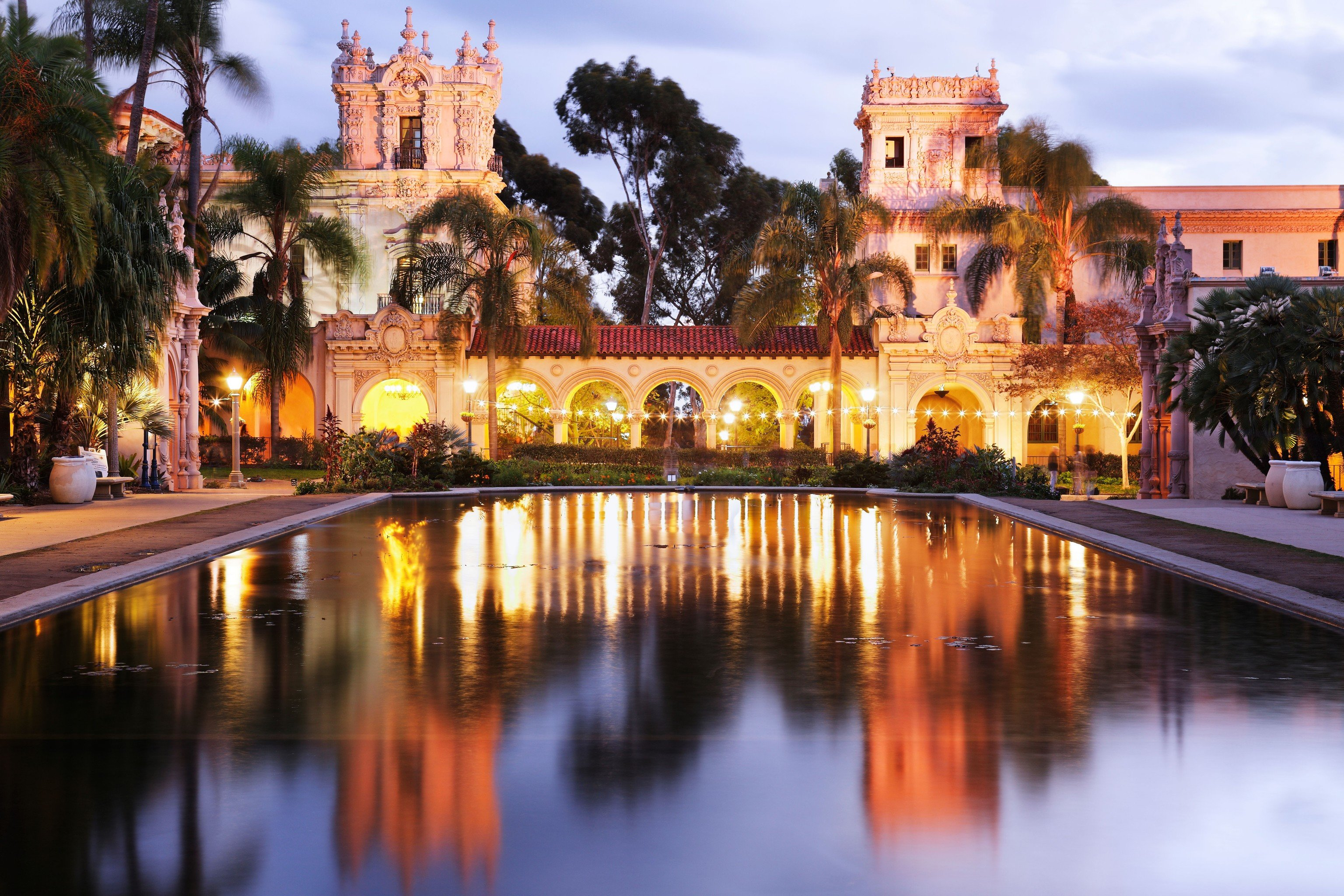 Trip Ideas Weekend Getaways outdoor water sky reflection landmark night evening cityscape plaza tourism waterway palace dusk cathedral