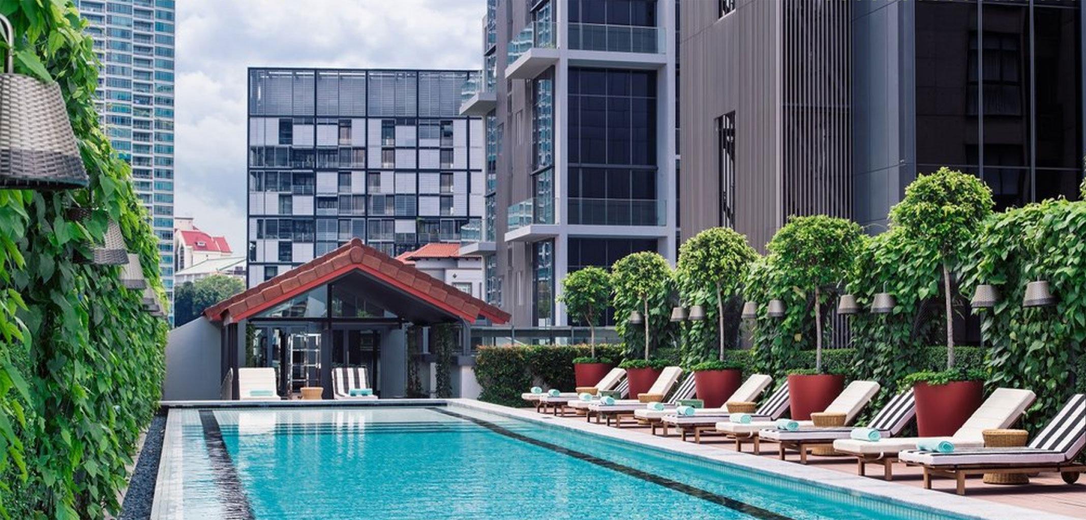 Hotels Romance building outdoor property house condominium swimming pool Pool home estate backyard Resort facade cottage Villa apartment Balcony