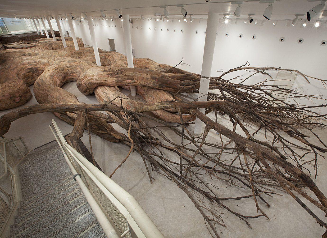 Arts + Culture sculpture wood art branch twig carving driftwood