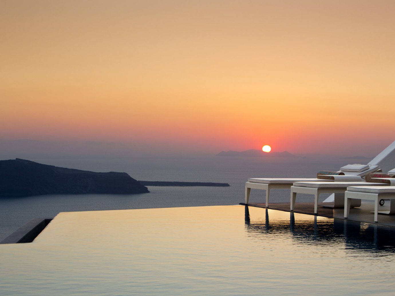 Hotels Trip Ideas water sky outdoor Boat scene Sea horizon sunrise Sunset dawn morning dusk afterglow Ocean vehicle reflection evening bay Coast Lake dock