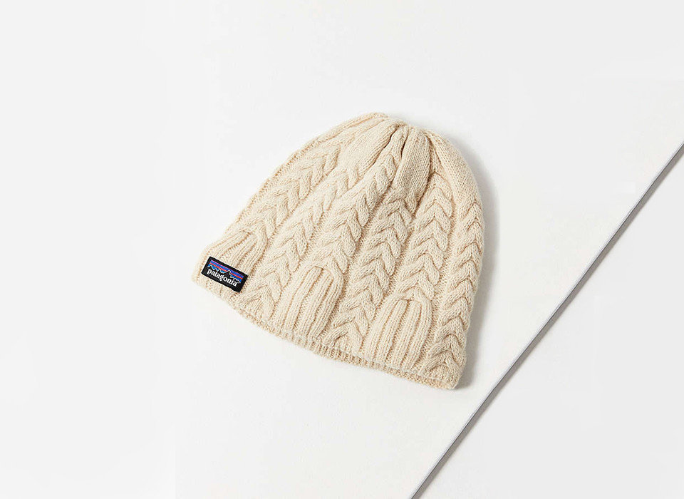 Cruise Travel Travel Shop headgear cap beige woolen beanie knit cap wool