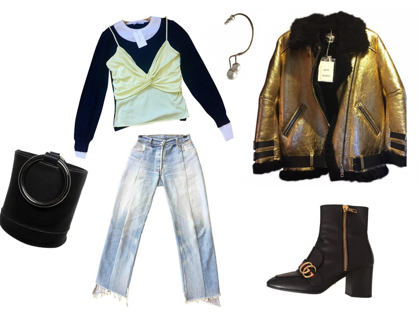 Style + Design clothing denim outerwear leather sleeve product jeans formal wear jacket brand textile costume
