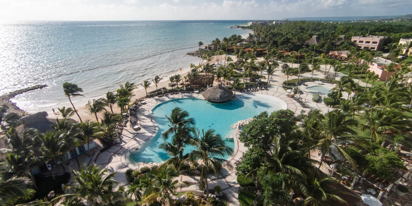 All-Inclusive Resorts Hotels Romance sky outdoor Nature property Resort Ocean caribbean vacation Beach Coast tourism Sea bay cape estate overlooking cove shore reef day
