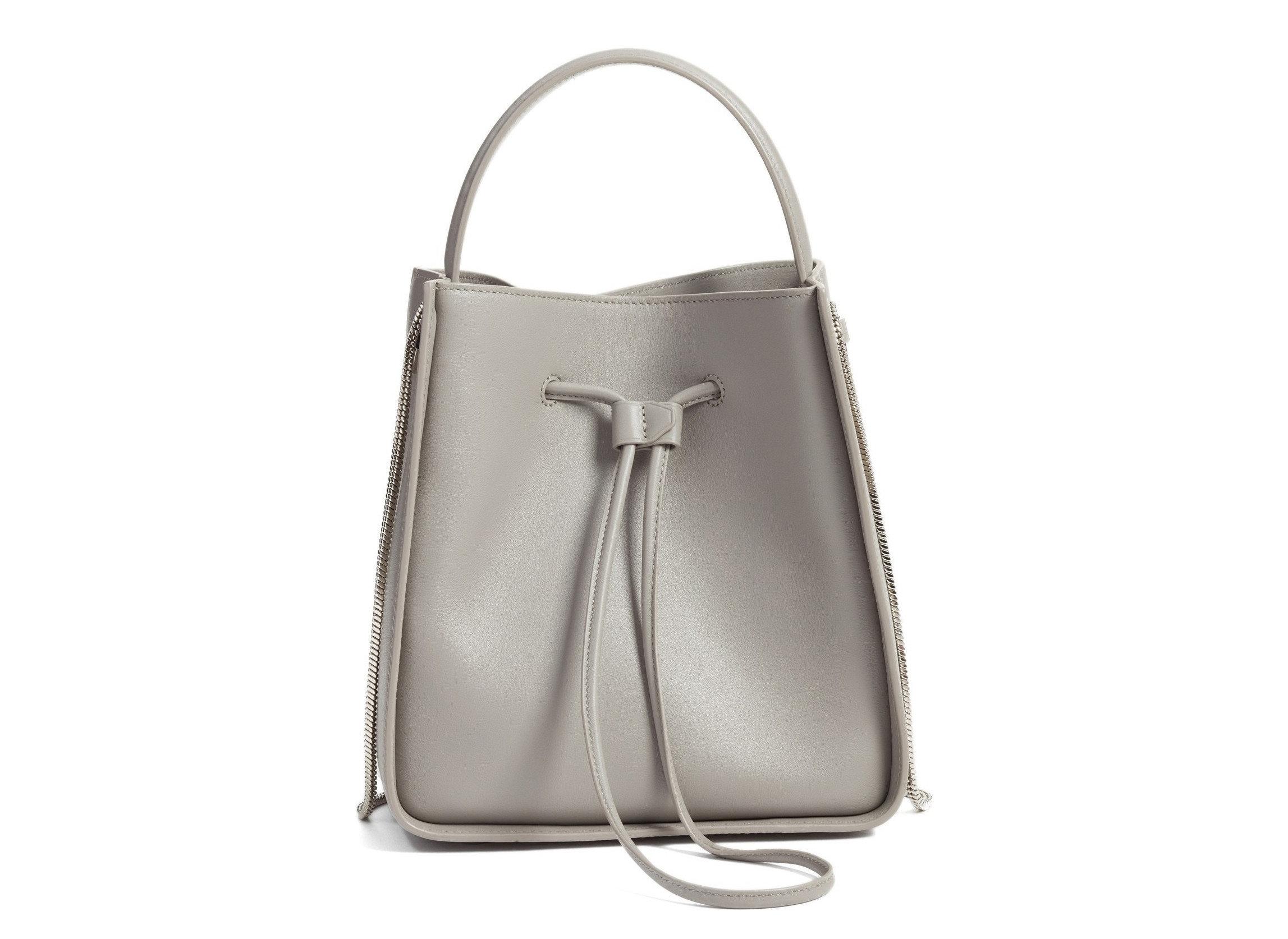 Style + Design Travel Shop white bag handbag indoor shoulder bag fashion accessory leather product product design beige silver metal accessory tote bag brand