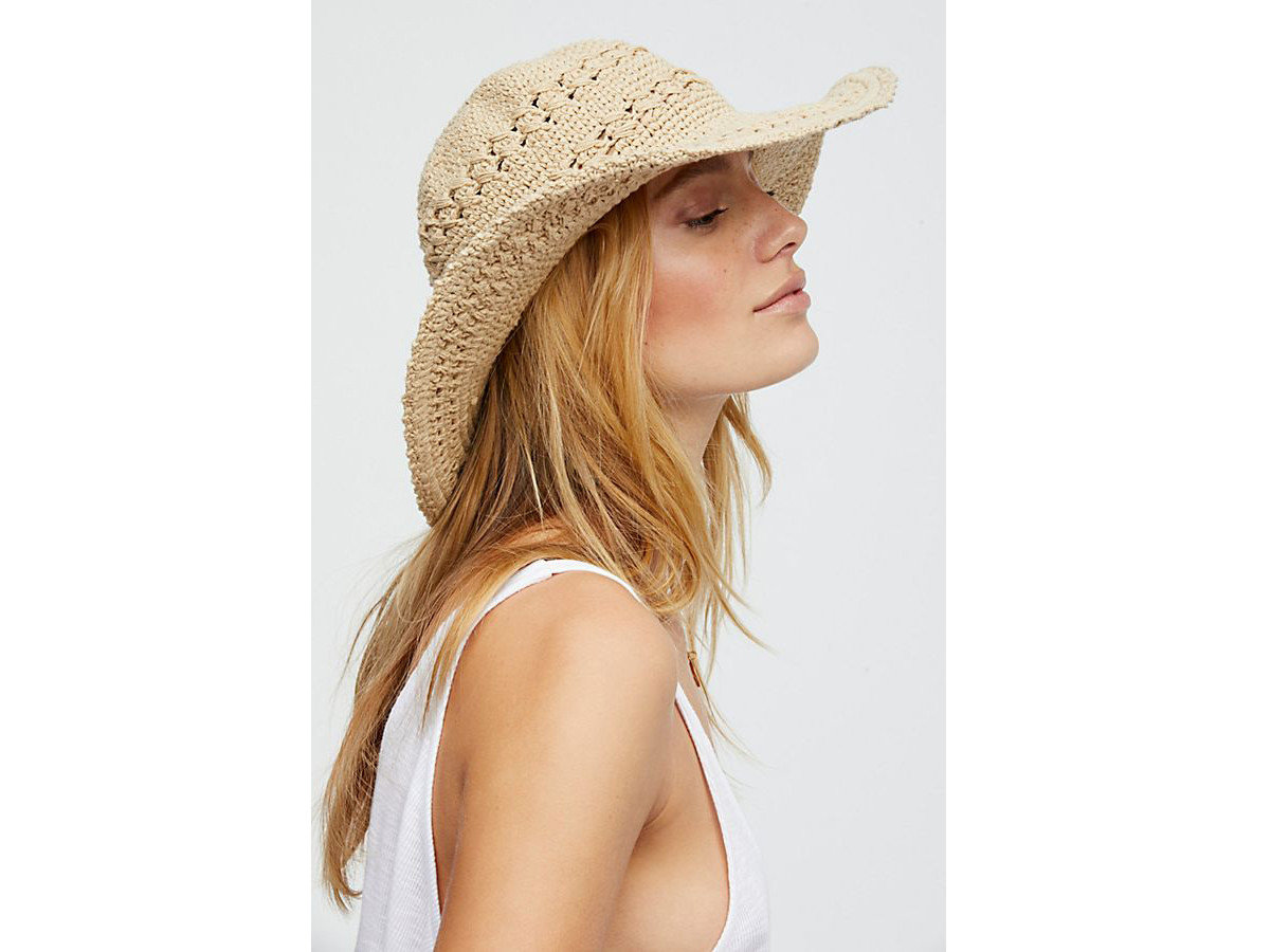 City Palm Springs Style + Design Travel Shop person woman clothing wearing hat sun hat headgear posing beautiful dress cap lady beige fedora pretty neck cowboy hat dressed