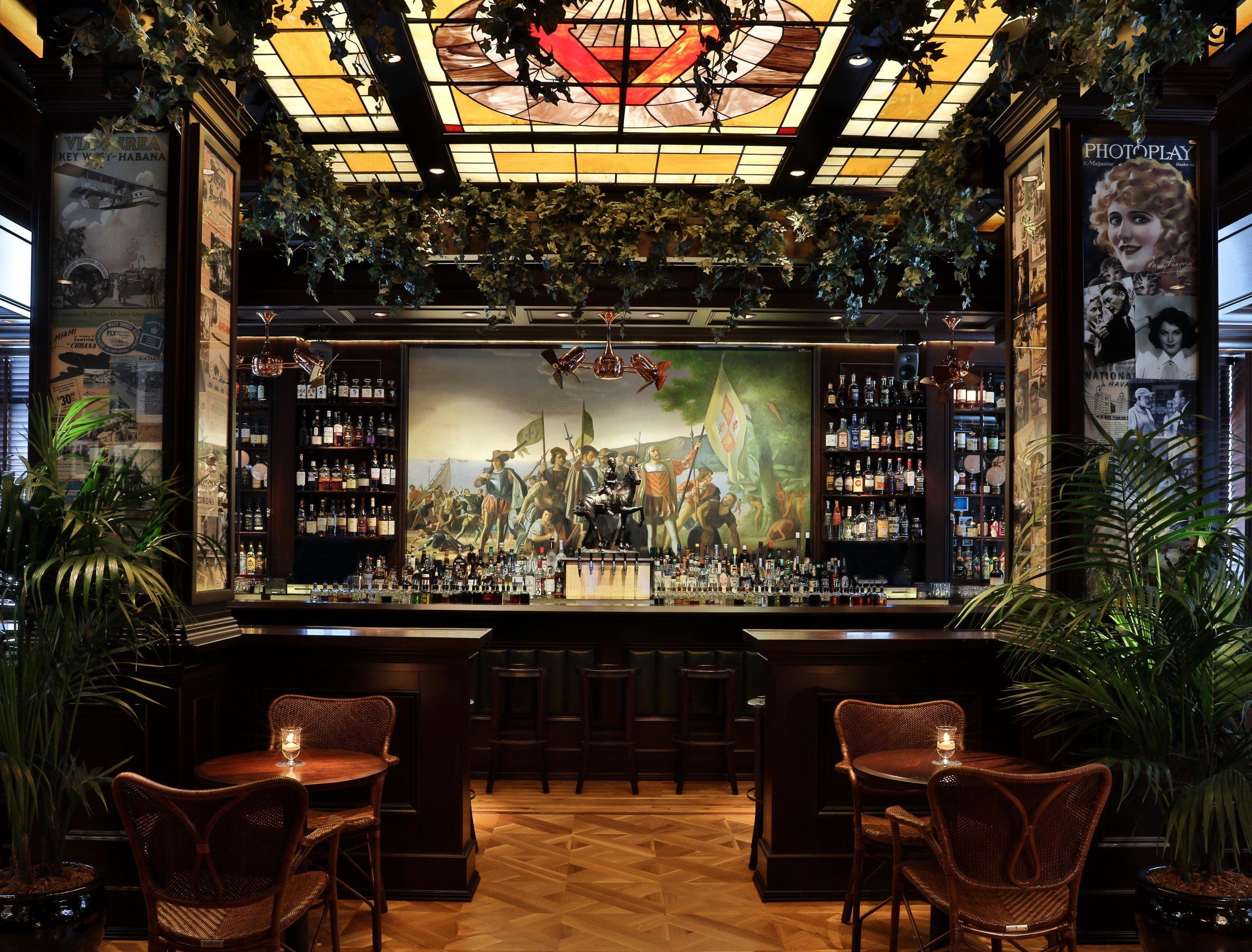 Food + Drink Gift Guides indoor Bar Lobby restaurant interior design estate several