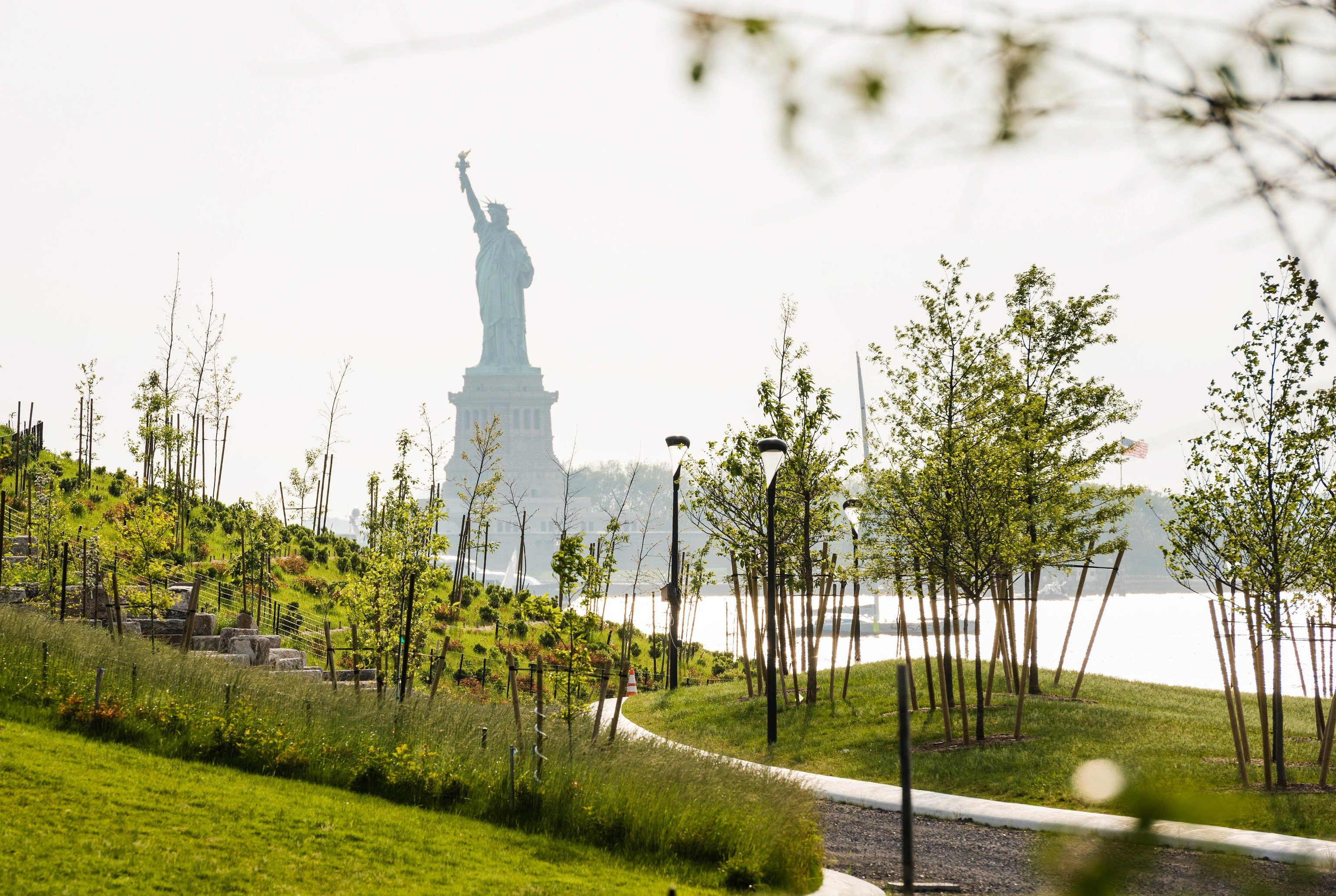 Glamping New York tree grass sky outdoor structure monument landscape recreation