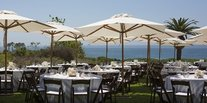 Food + Drink outdoor grass chair sky umbrella table lawn wedding tent Picnic set meal ceremony Dining estate wedding reception restaurant Resort several Deck day