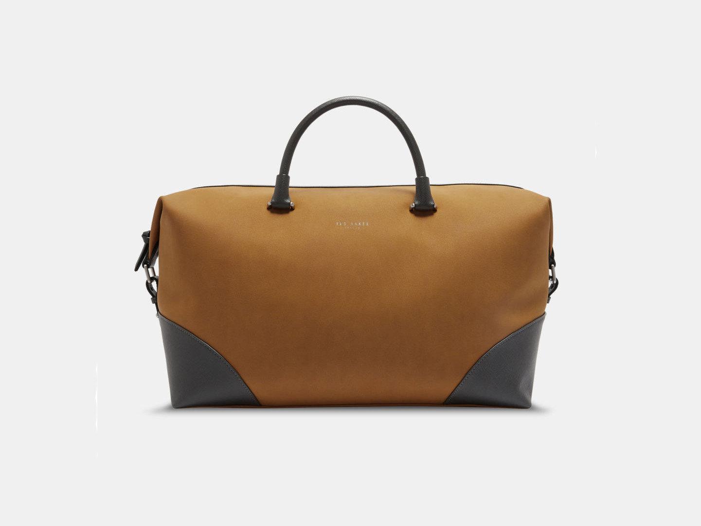 Style + Design Travel Shop bag brown handbag accessory leather fashion accessory product case shoulder bag product design brand caramel color baggage beige