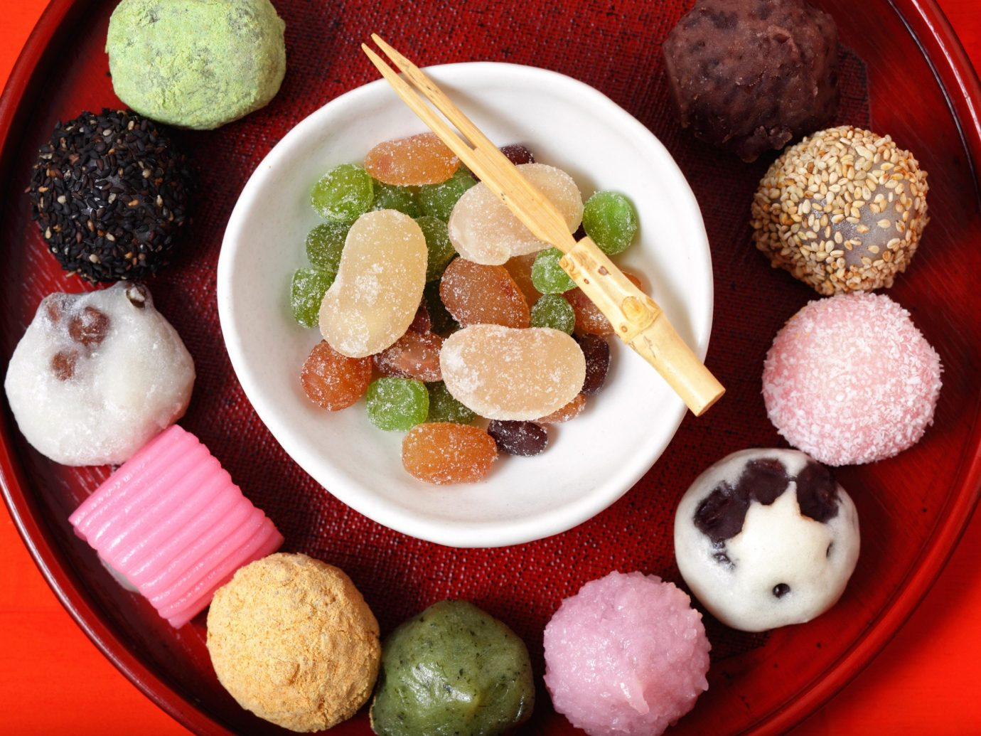 Food + Drink food plate dish cuisine meal asian food fruit falafel hors d oeuvre breakfast