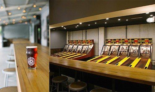 Summer Series indoor floor man made object ceiling room restaurant Bar area
