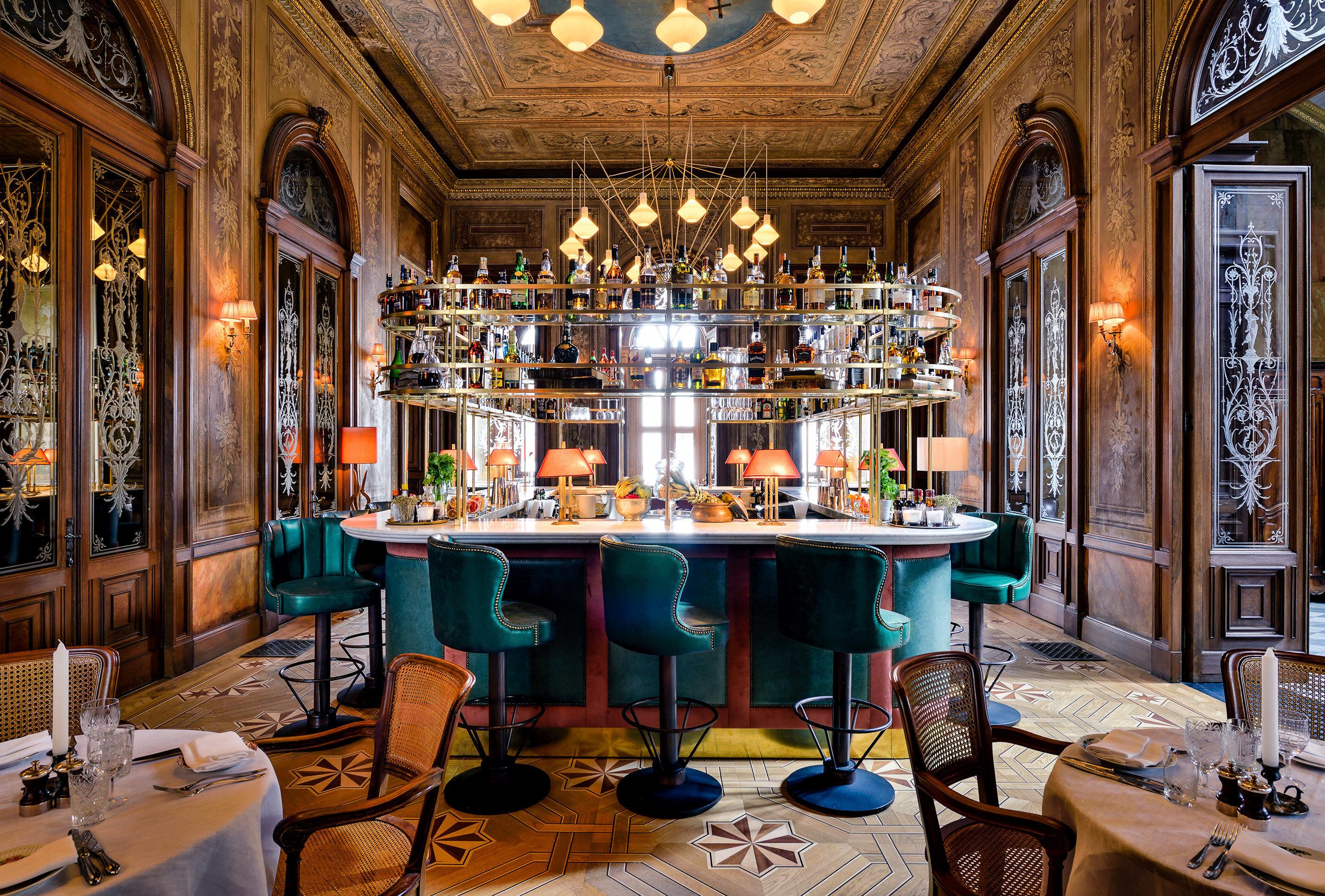 Boutique Hotels Hotels Luxury Travel indoor interior design restaurant dining room Bar set several