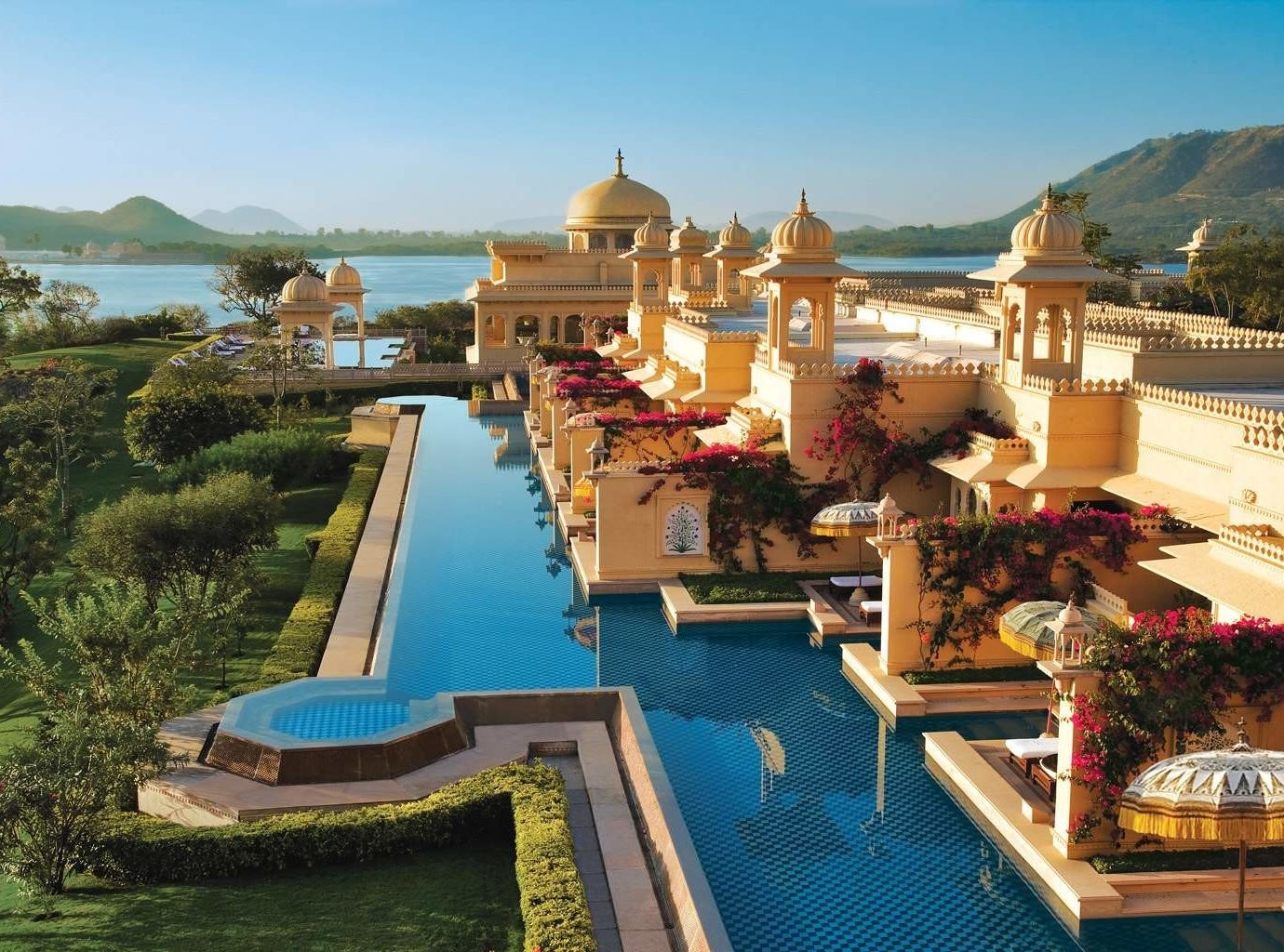 Infinity Hotel At The Oberoi Udaivilas In India