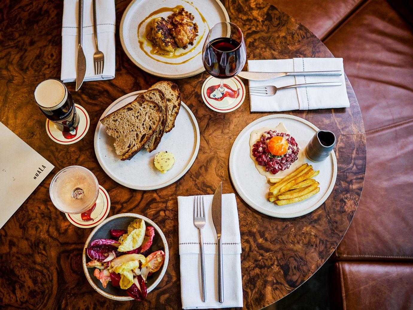 Food + Drink London table plate meal food breakfast brunch indoor tableware full breakfast coffee cup dish supper flavor several