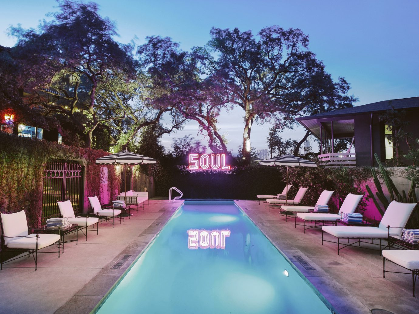 Hotels Trip Ideas tree outdoor sky property swimming pool building estate Resort Villa backyard vacation home hacienda mansion real estate