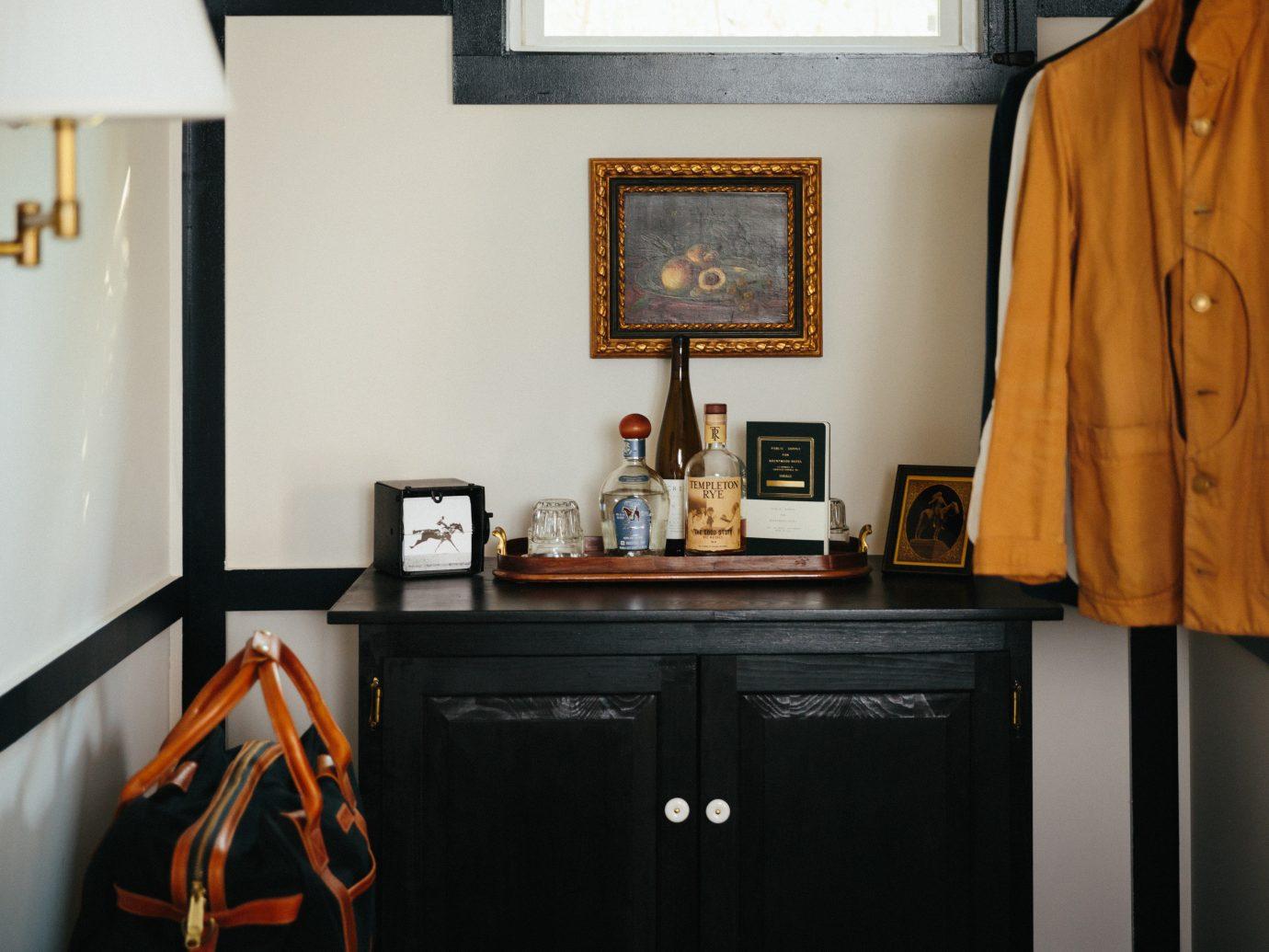 Hotels New York Romantic Hotels indoor wall room home interior design black Design furniture
