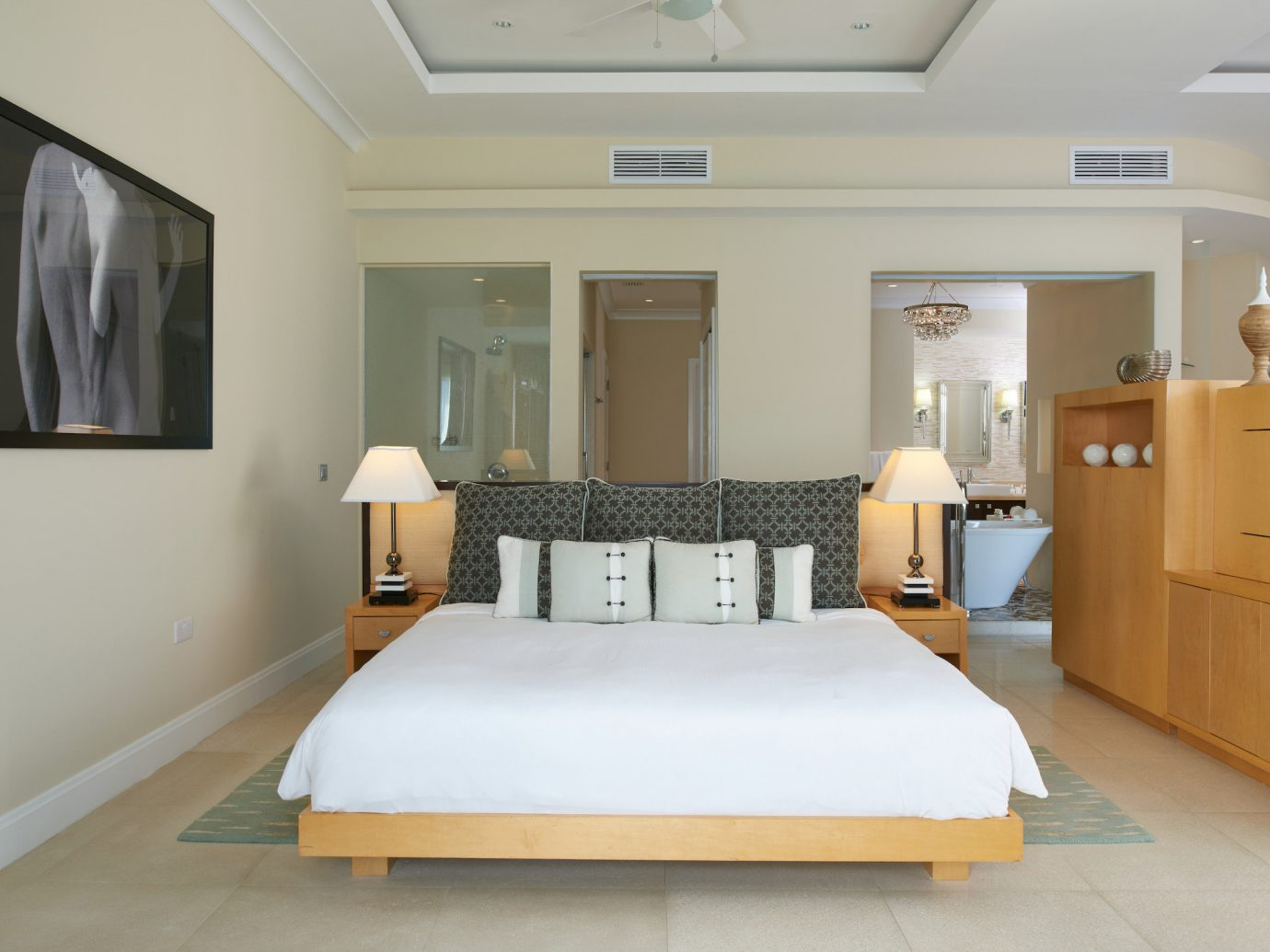 Bedroom at BodyHoliday, St. Lucia