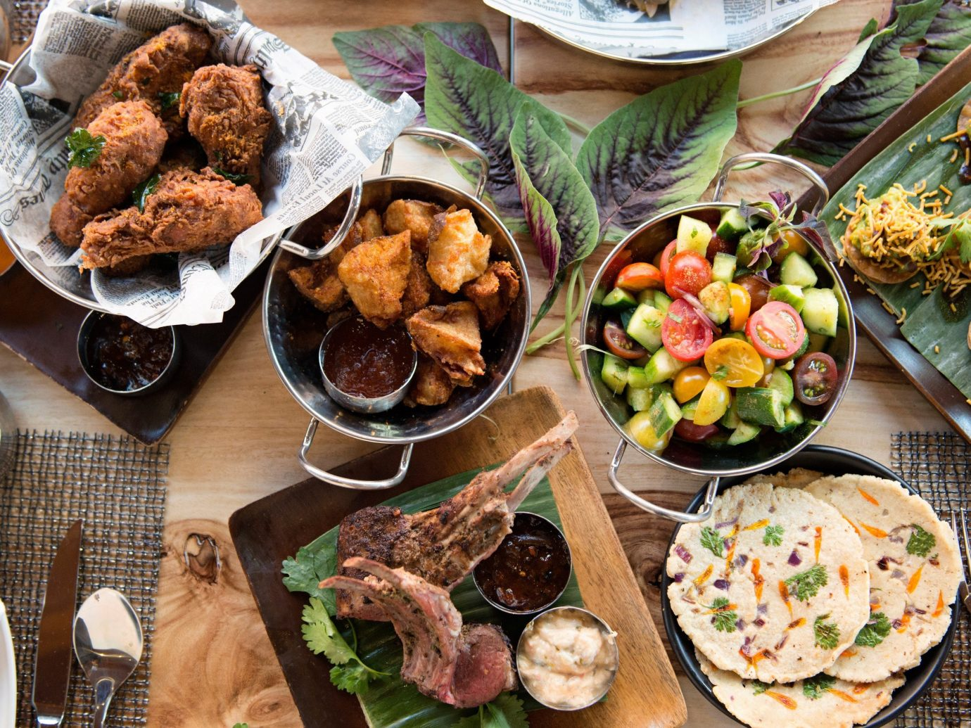 Trip Ideas food table plate dish meal brunch different cuisine lunch set several