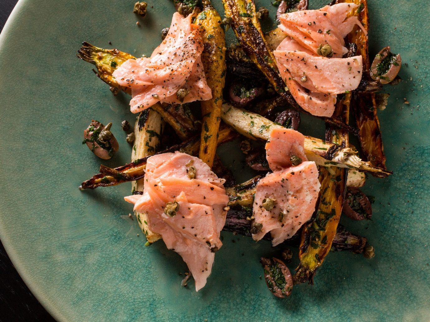 Food + Drink plate dish food Seafood meat animal source foods recipe meal