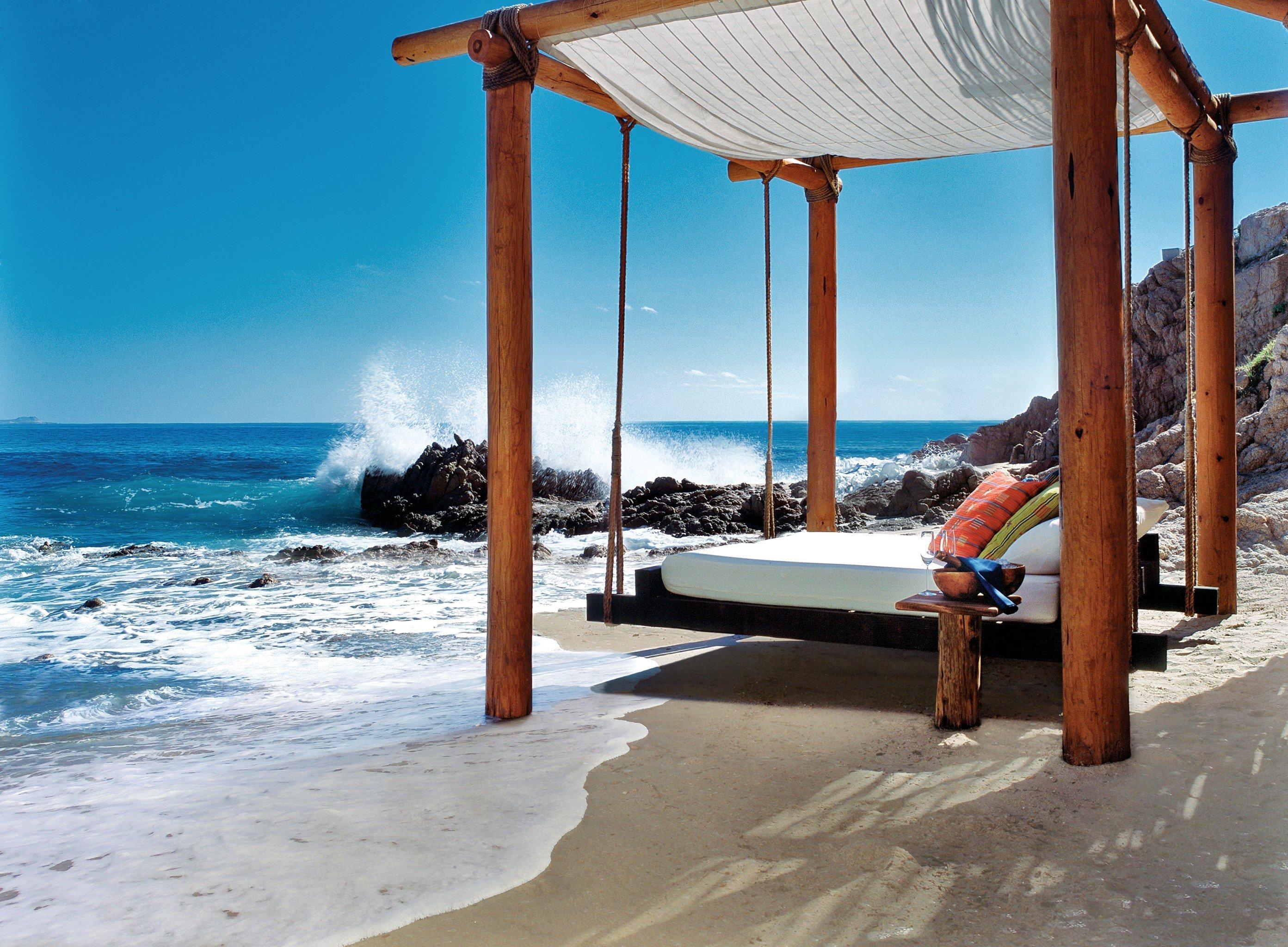 Hotels sky Beach outdoor leisure vacation Ocean Sea Resort caribbean swimming pool estate walkway shore sandy