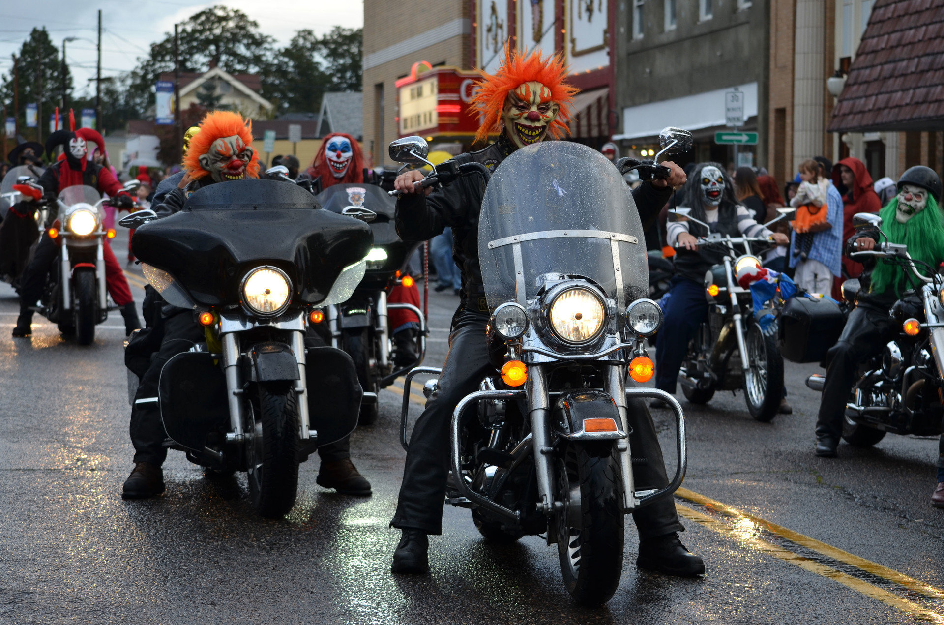 costume festival festive fun halloween holiday motorcycle parade people road streets Trip Ideas outdoor car motorcycling vehicle police demonstration