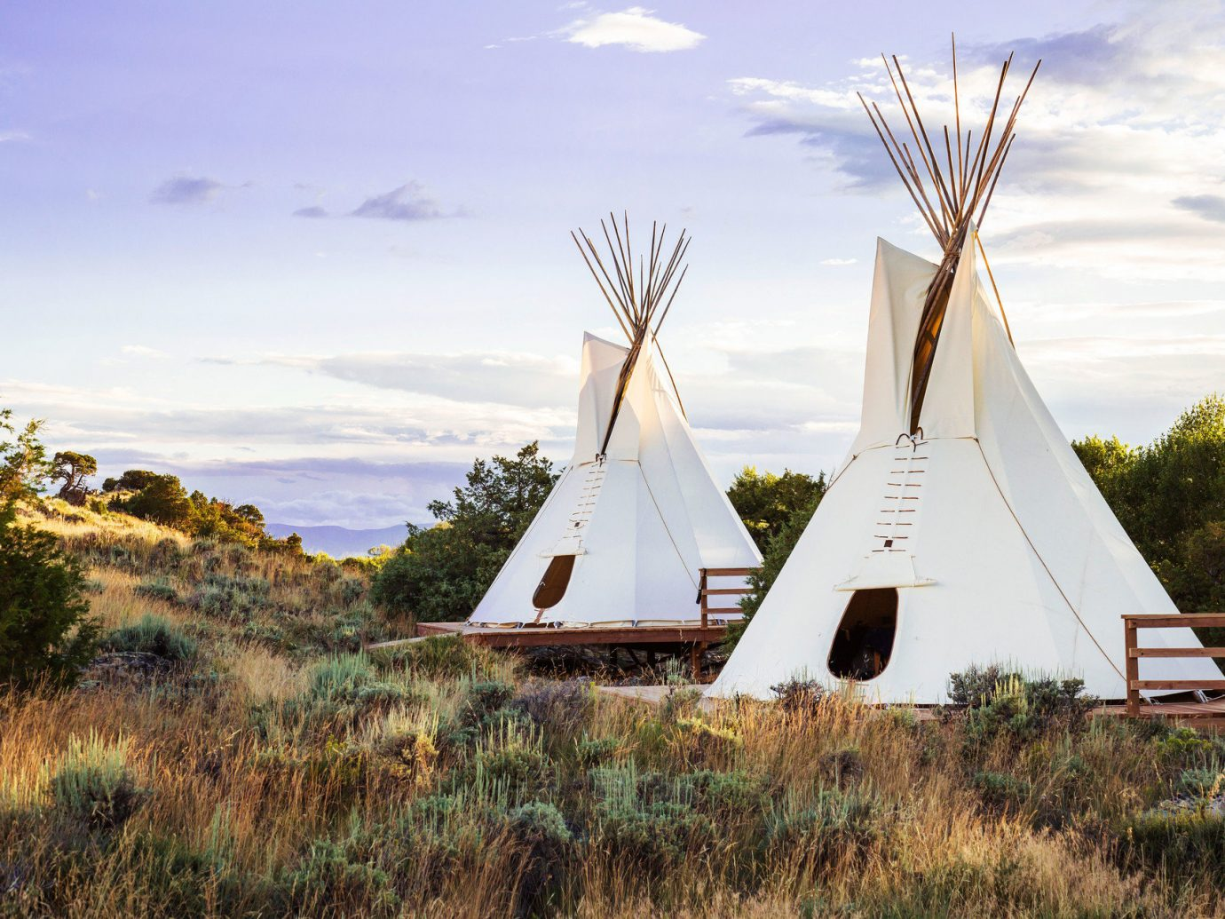 artistic artsy calm Hip isolation Nature Outdoors remote serene teepee trendy Trip Ideas tepee building grass outdoor sky windmill tree field rural area mill wind tower grassy